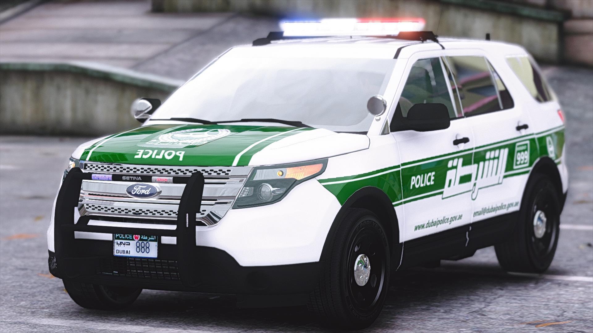 Ford Explorer Dubai Police - GTA5-Mods.com