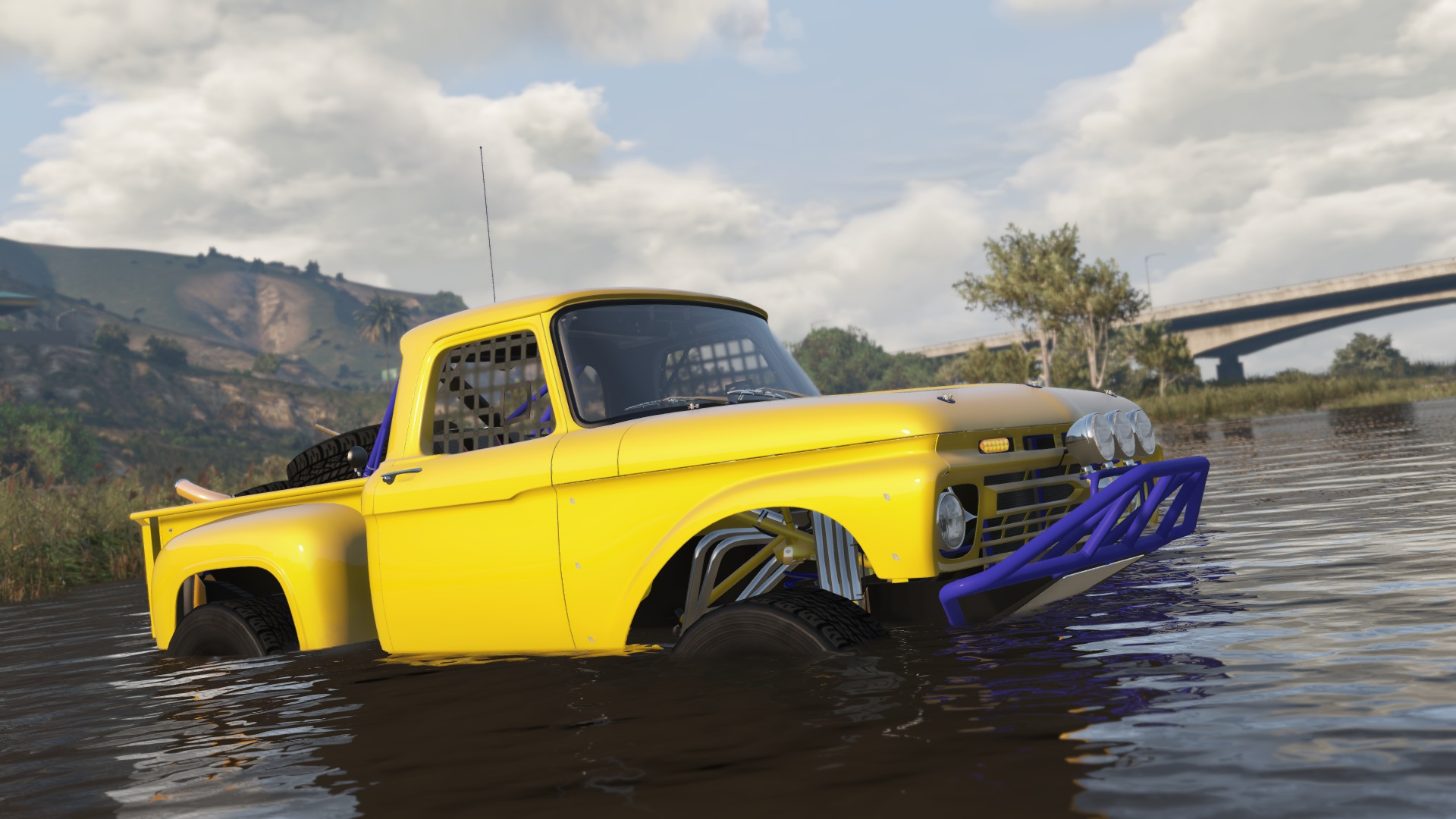 [ADD-ON] Ford F-100 Trophy Truck Abatti Racing - GTA5-Mods.com