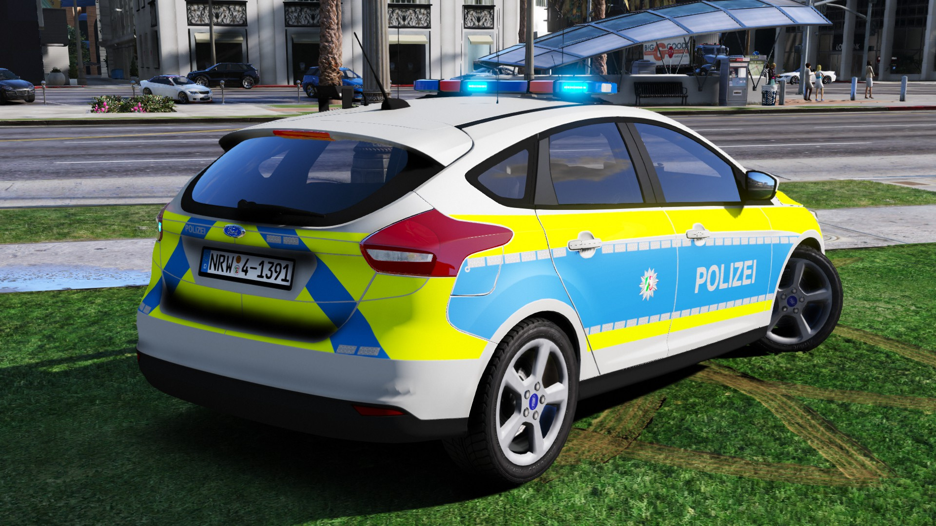 ford focus polizei nrw gta5. Black Bedroom Furniture Sets. Home Design Ideas
