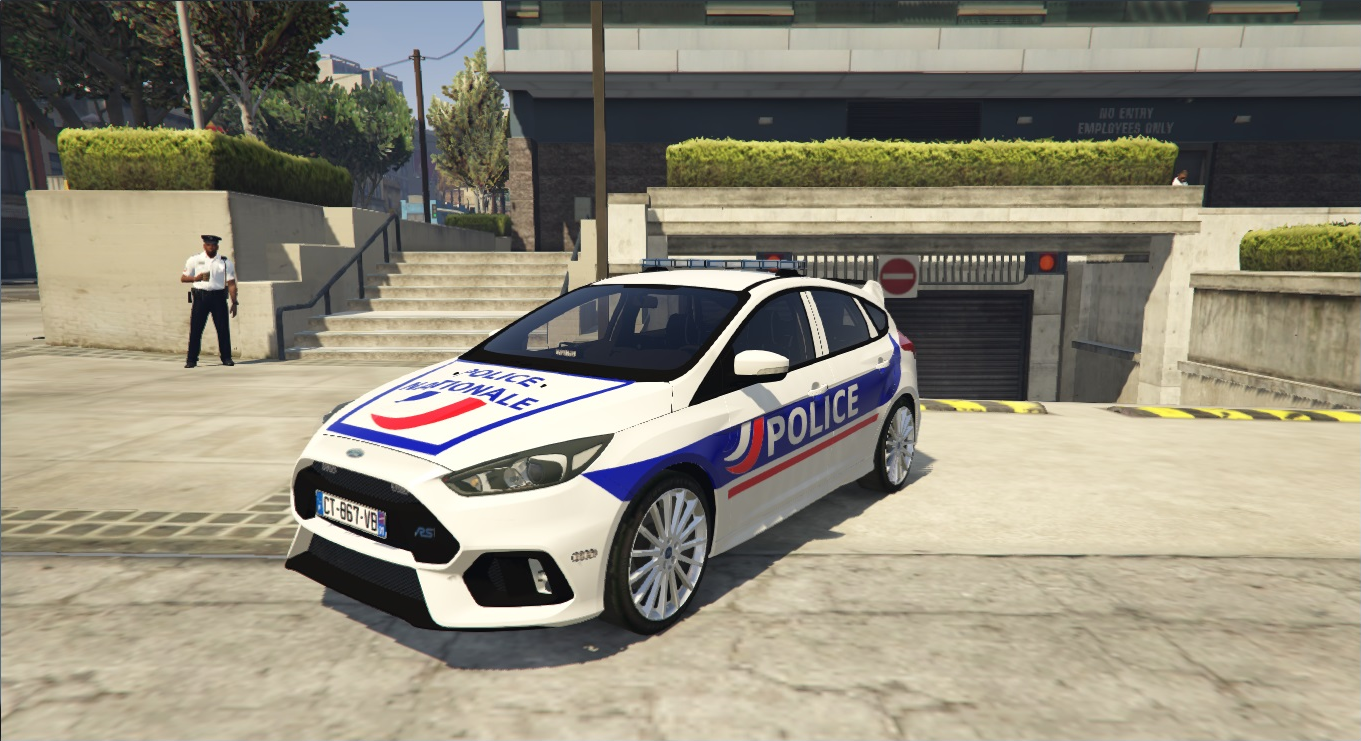 20162017 Police Ford Focus Rs Markedunmarked Gta5 Modscom | 2017 ...