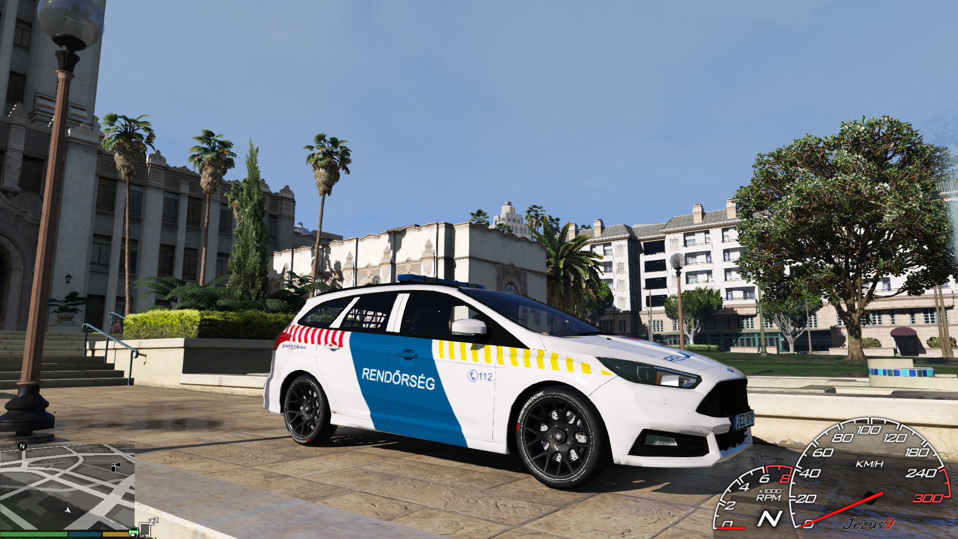 Ford Focus ST Hungarian Police Car & Ford Focus ST Hungarian Police Car - GTA5-Mods.com markmcfarlin.com