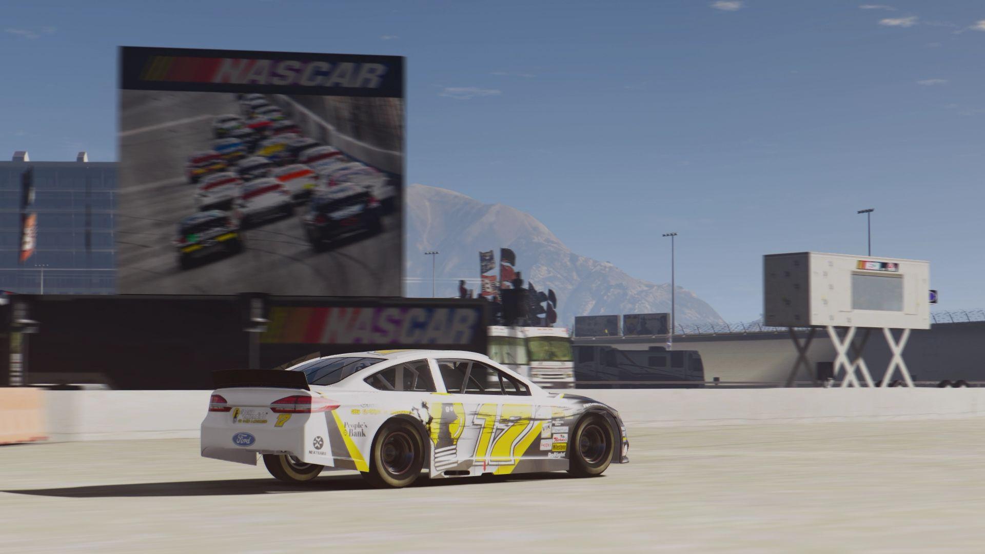 Ford Fusion NASCAR [Add-On