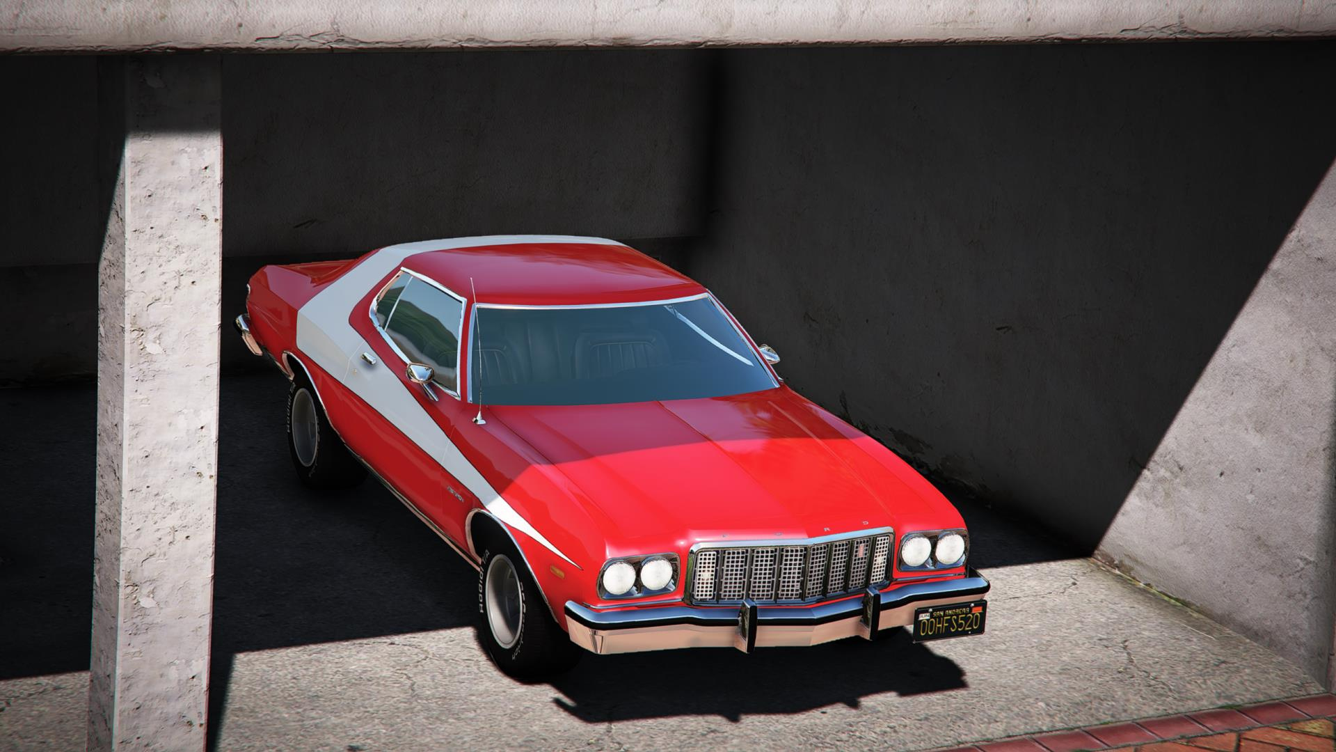1976 Ford Gran Torino Add On Lods Dirtmap Template