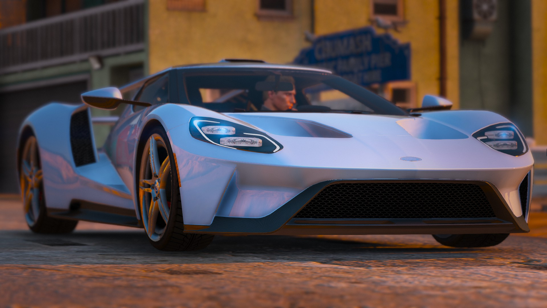 Ford Gt 2017 Automatic Spoiler Tuning Add On Gta5