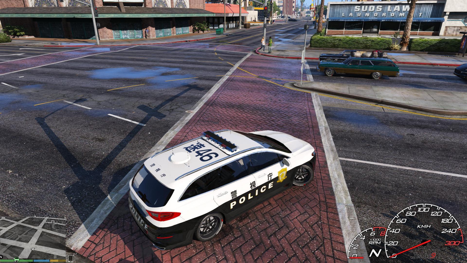 Ford Mondeo Japanese Police Car Paintjob GTA5 Mods