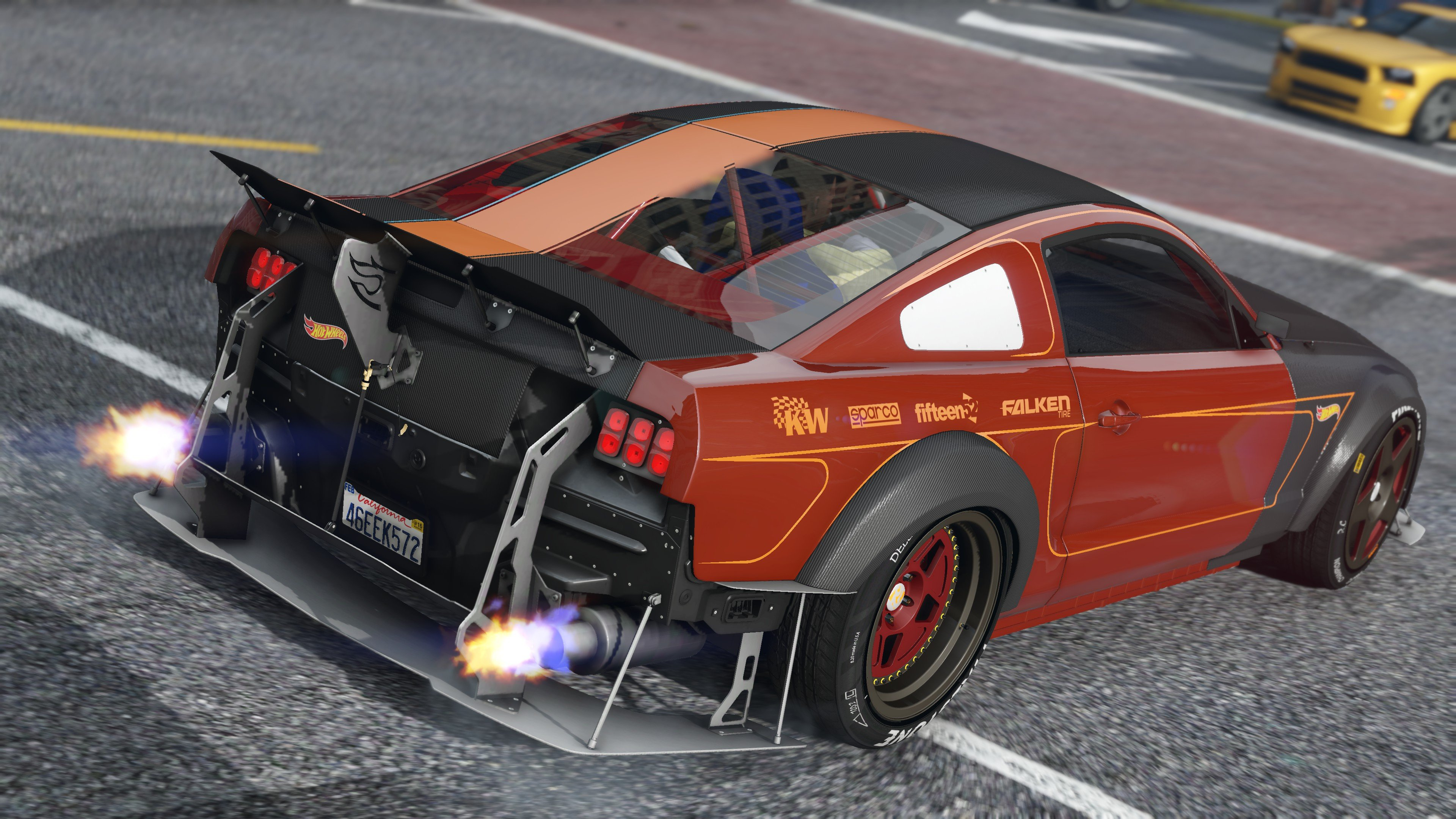 Ford Mustang 05 Fh3 Hot Wheels Addon Animated