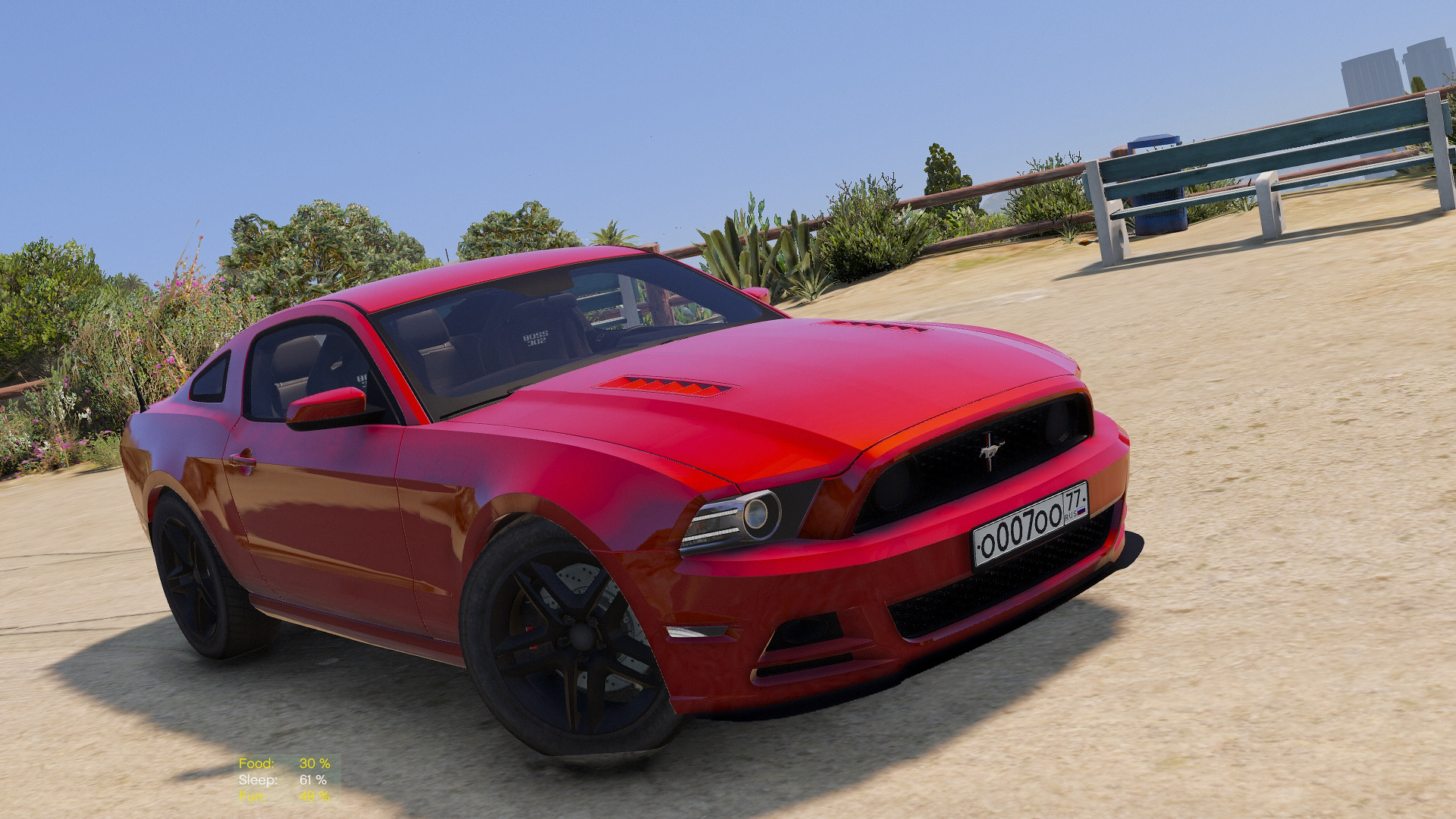 Ford Mustang Boss 302 2013 Add On Replace Gta5 Modscom