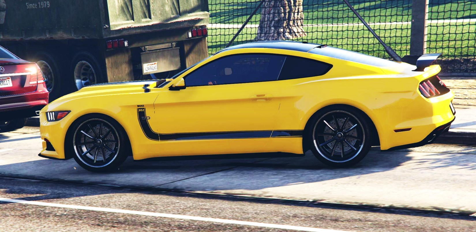 ford mustang boss 302 paintjob gta5. Black Bedroom Furniture Sets. Home Design Ideas