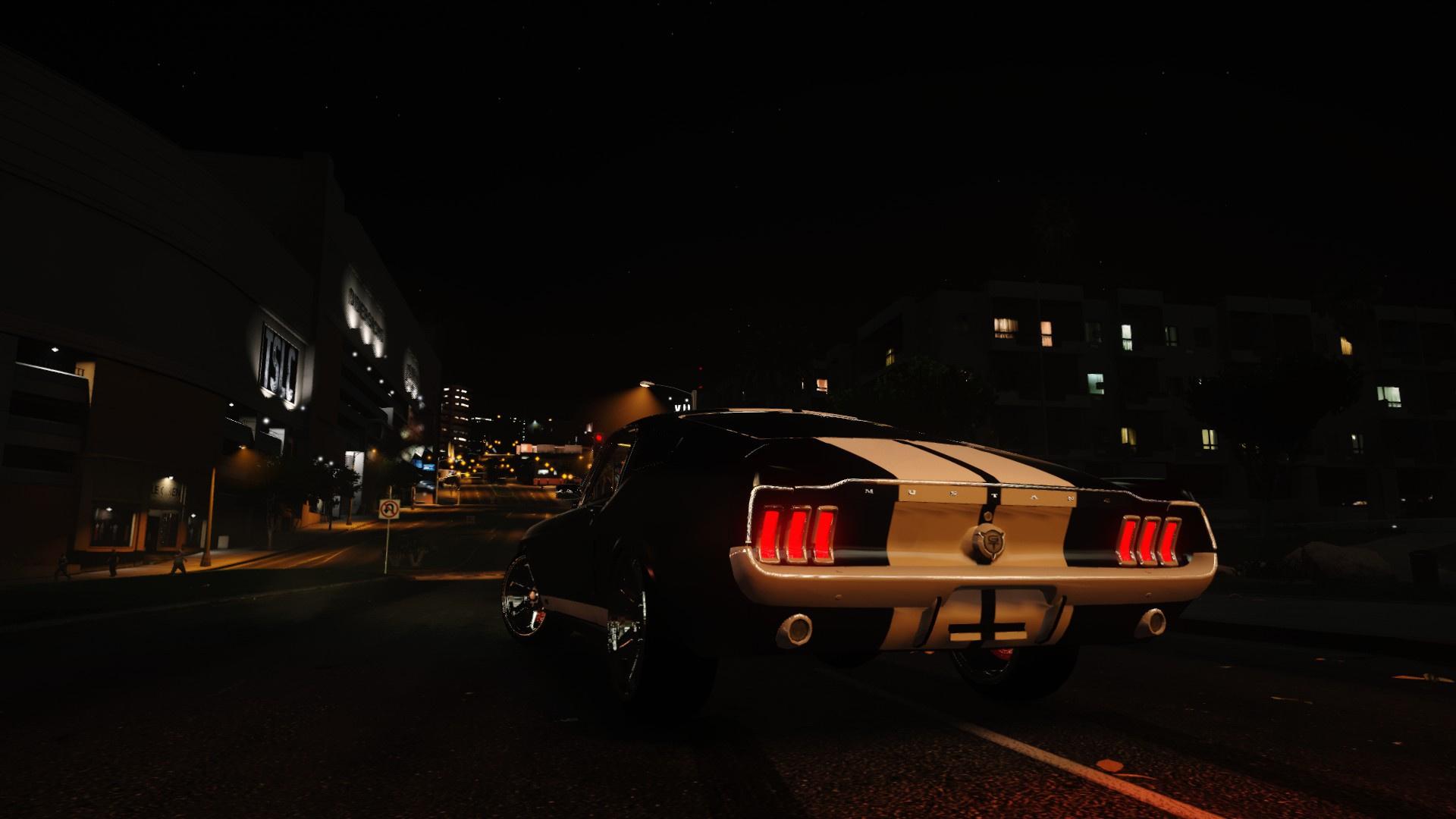Ford Mustang Fastback 1967 Replace Gta5 Modscom