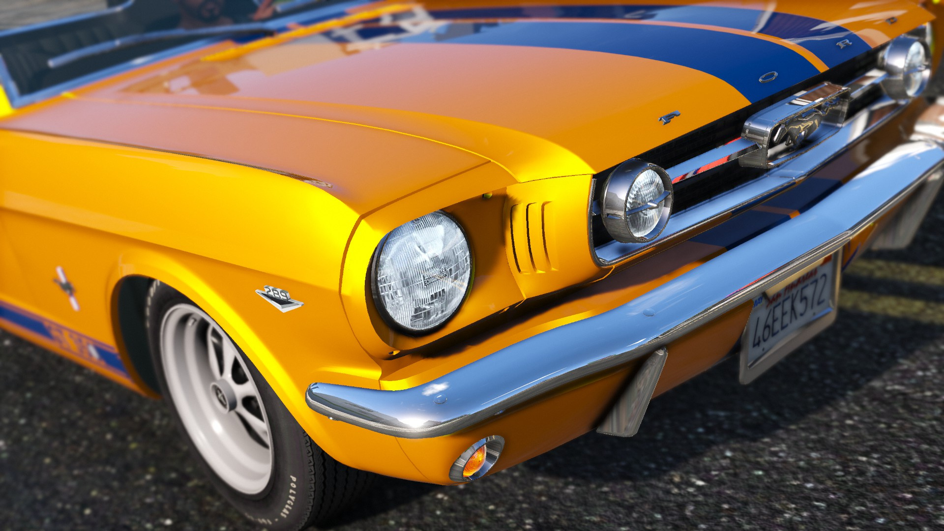 Ford mustang fastback add on gta5 - Mustang modification ...