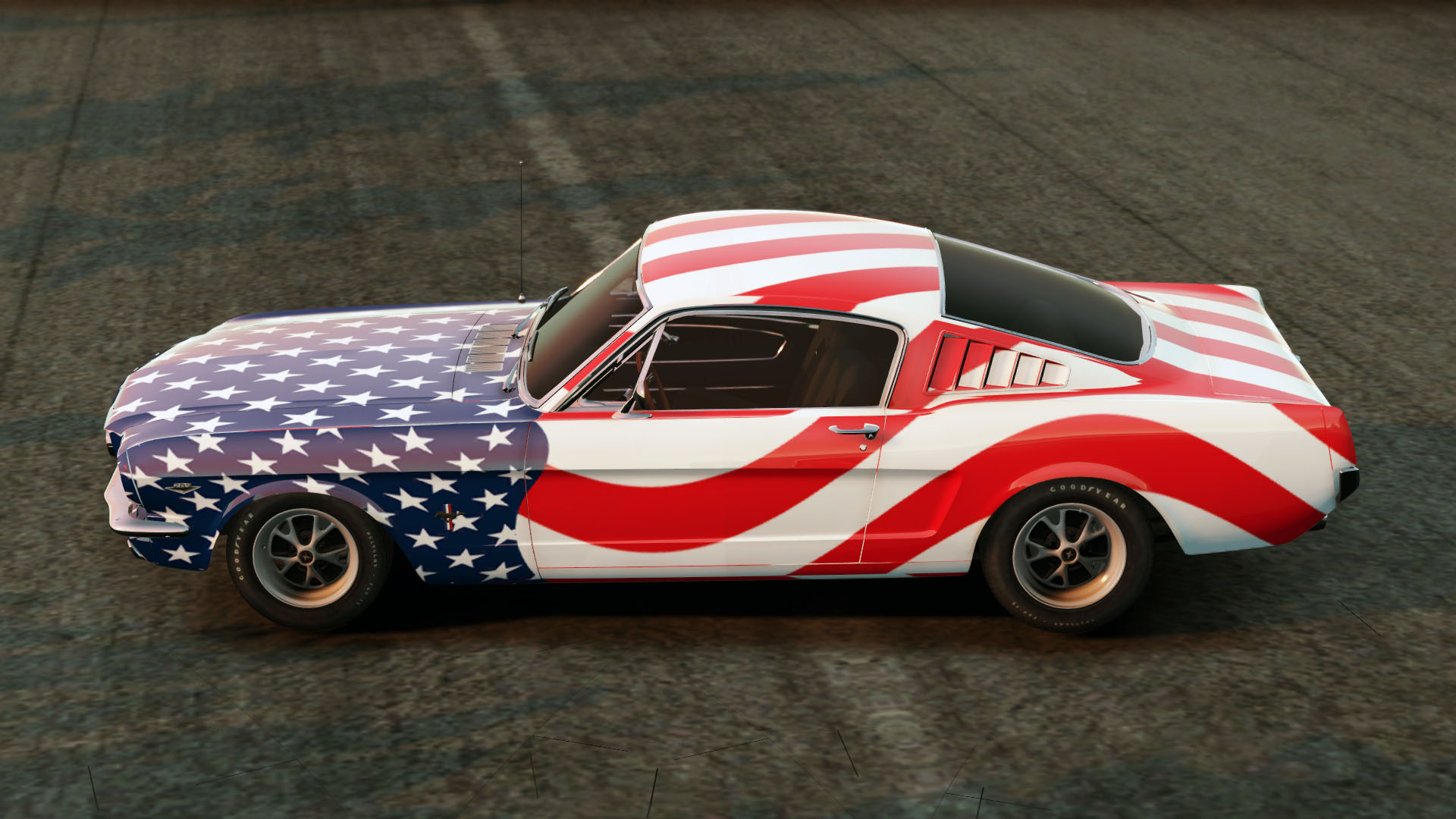 Stars And Stripes Car Show
