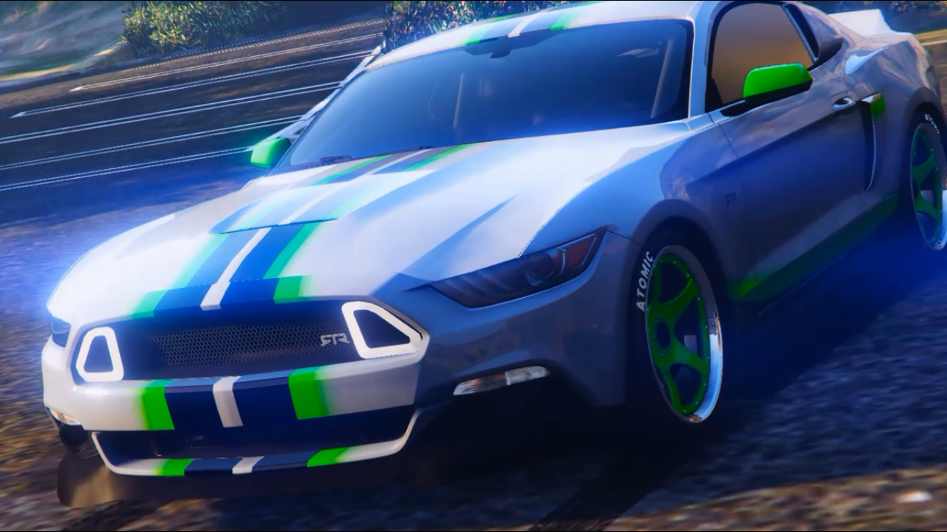 Ford Mustang GT 702 Livery - GTA5-Mods.com
