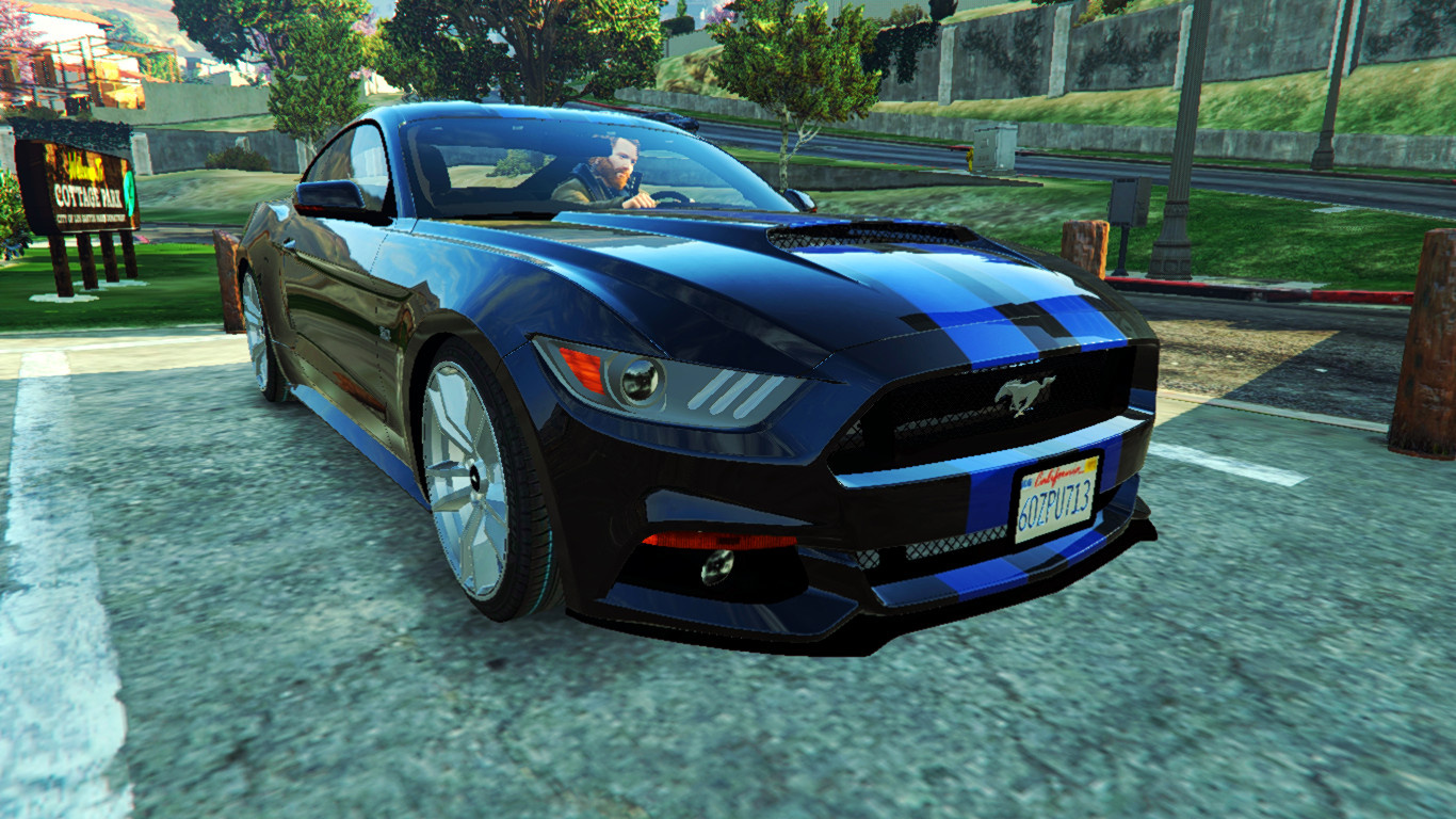 ford mustang gt need for speed movie paintjob gta5. Black Bedroom Furniture Sets. Home Design Ideas