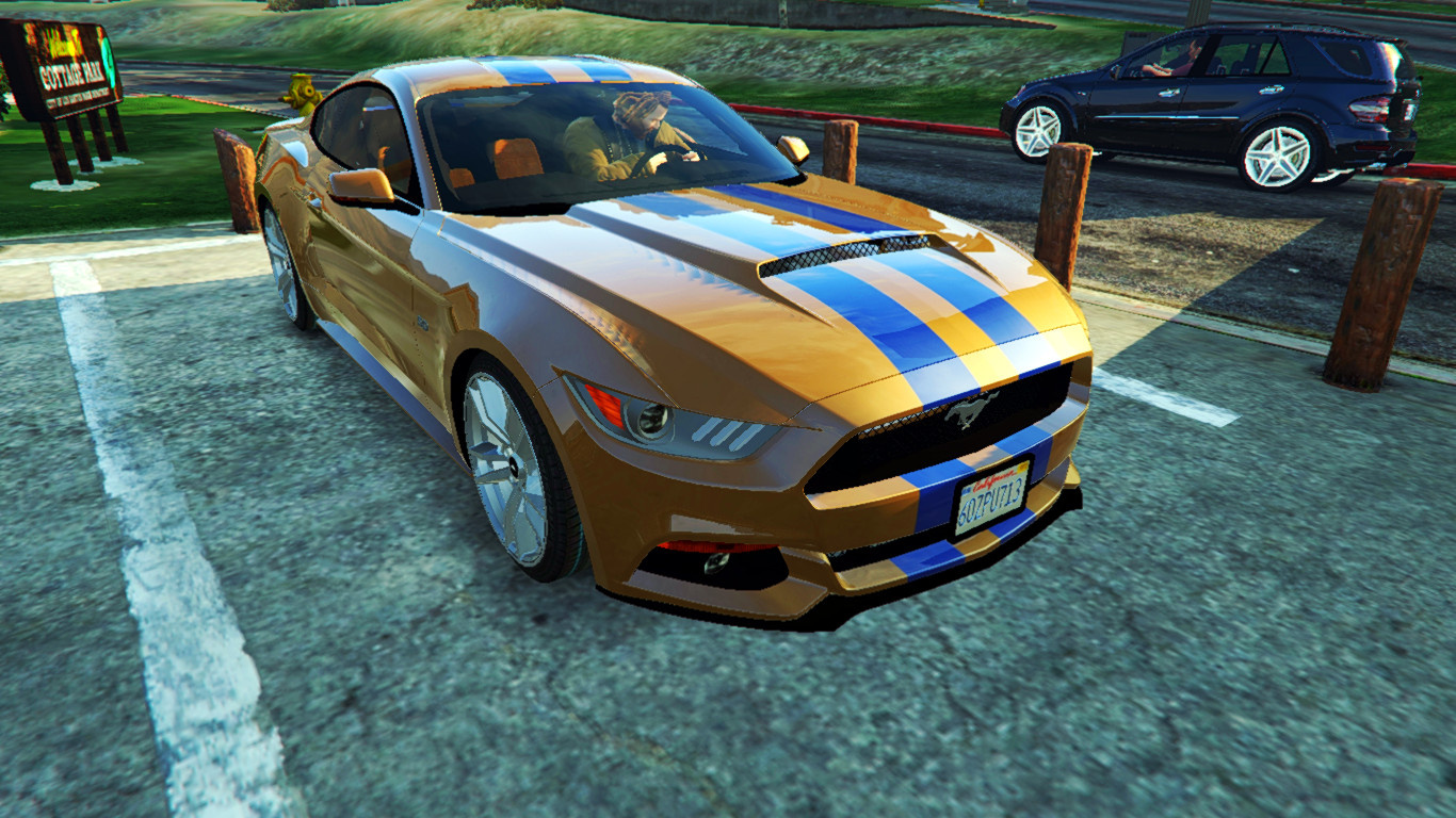 Ford Mustang GT Need for Speed Movie Paintjob - GTA5-Mods com