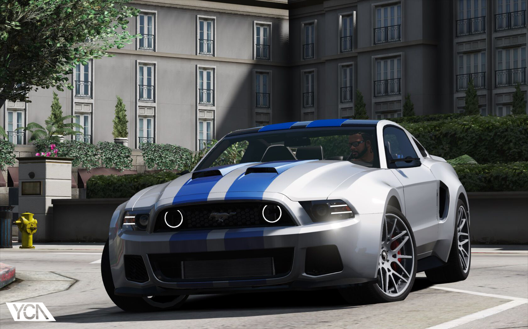 Ford Mustang Gt Nfs Gt500 2013 Add On Gta5 Mods Com