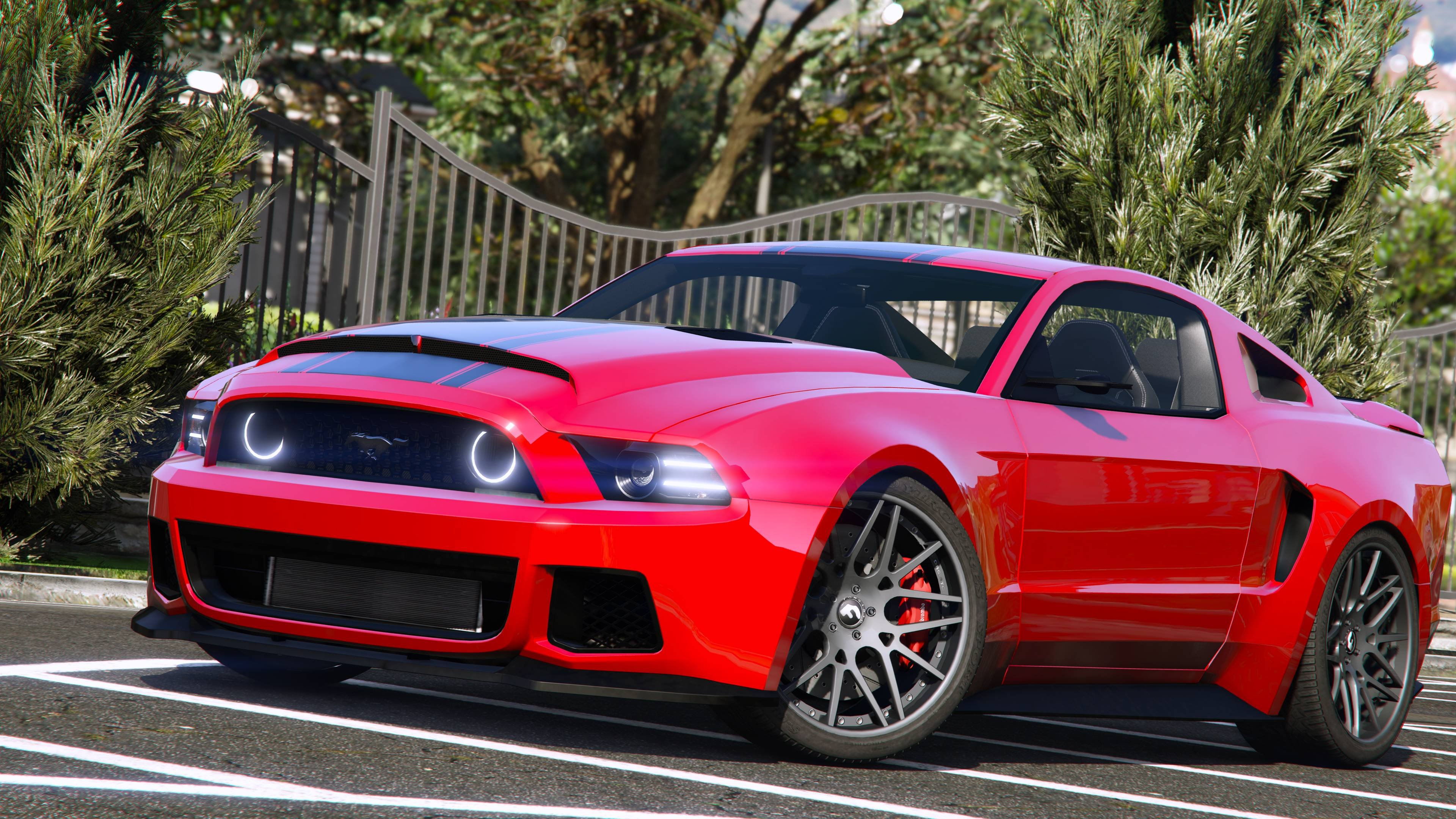 Ford mustang gt nfs gt500 2013 add on gta5 - Mustang gt ...