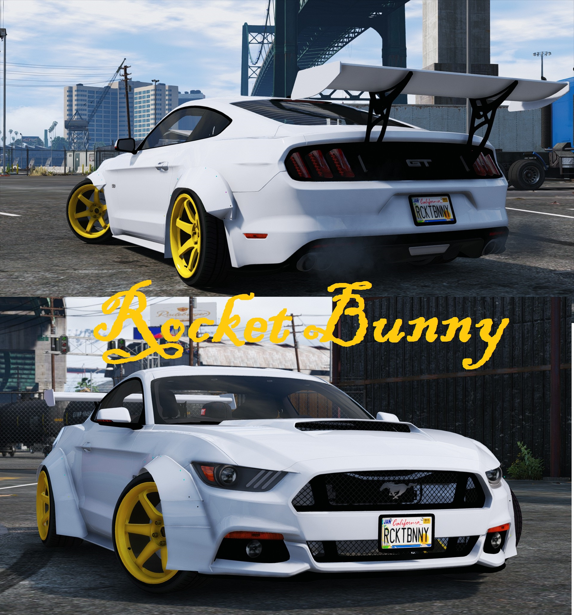 Ford Mustang GT [RocketB & Wide Body] GTA5 Mods