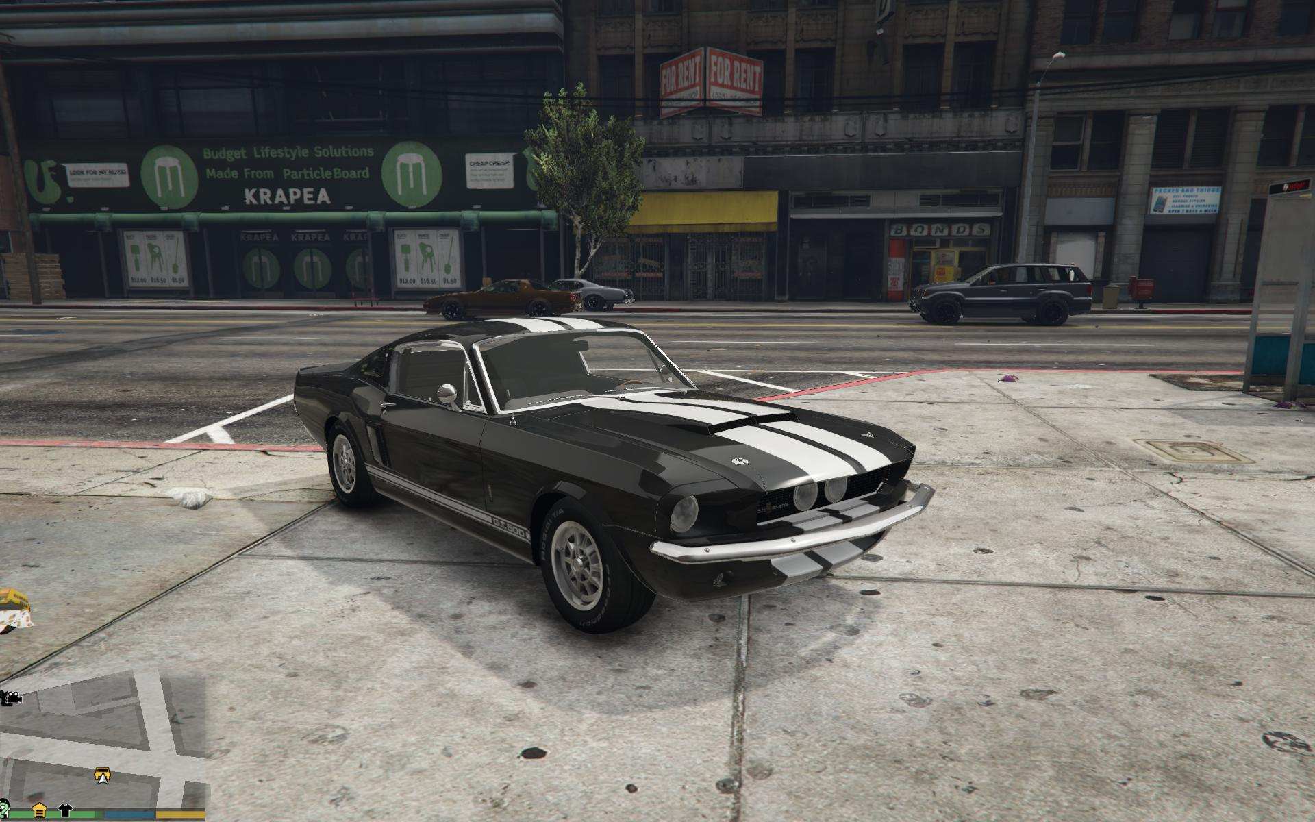 Gta V Ford Mustang Cheat