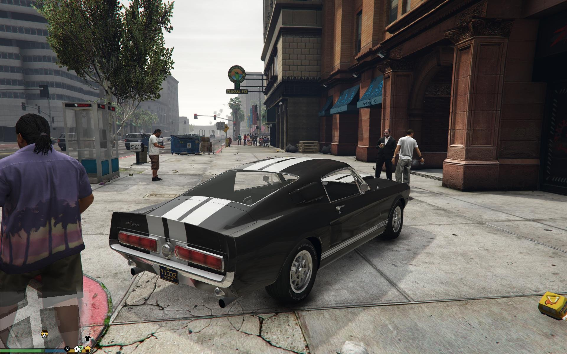 1967 Ford Mustang GT500 GTA5 Mods