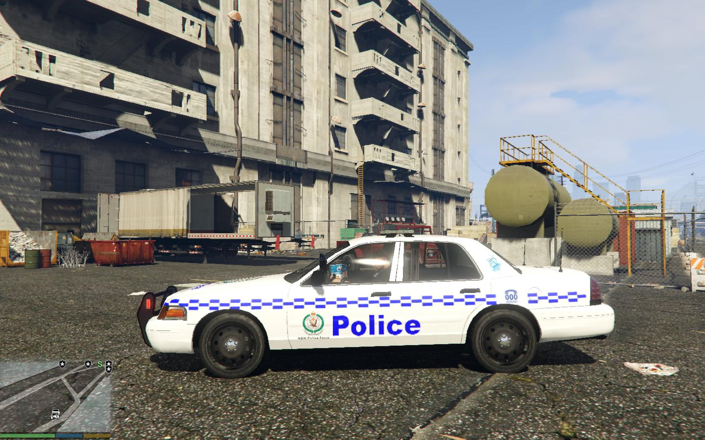 Ford Crown Victoria Nsw Police Car Gta5 Mods Com