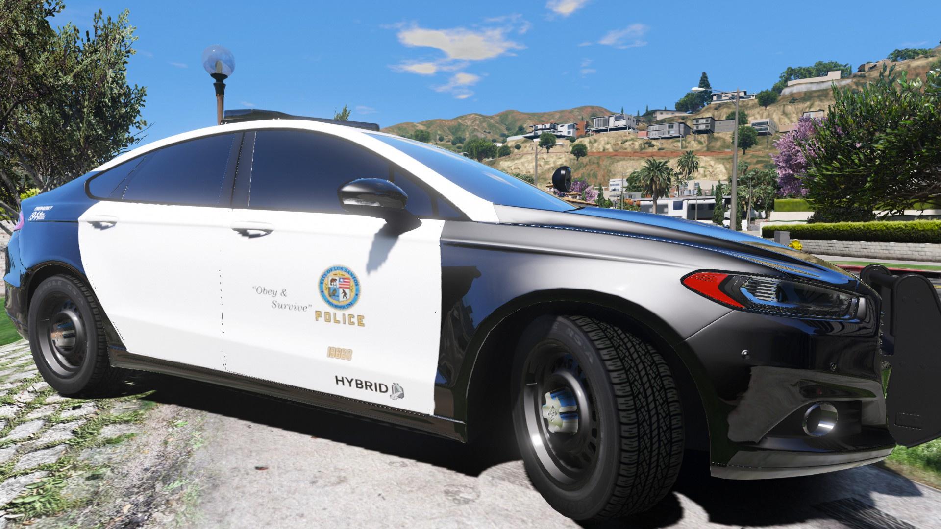 ford police responder hybrid replace els gta5. Black Bedroom Furniture Sets. Home Design Ideas