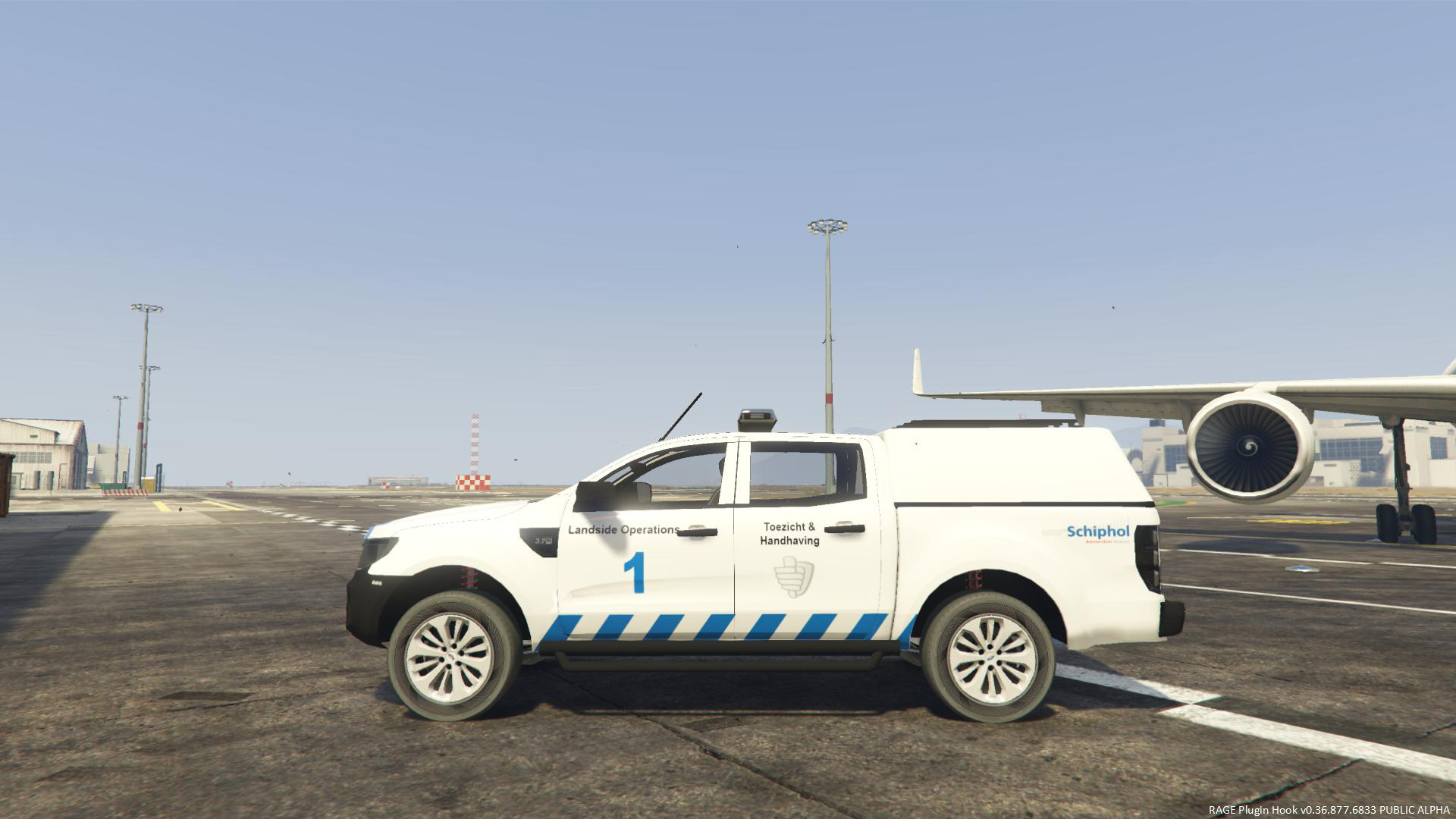 Ford Ranger Schiphol Landside Operations [4K Skin] - GTA5-Mods com
