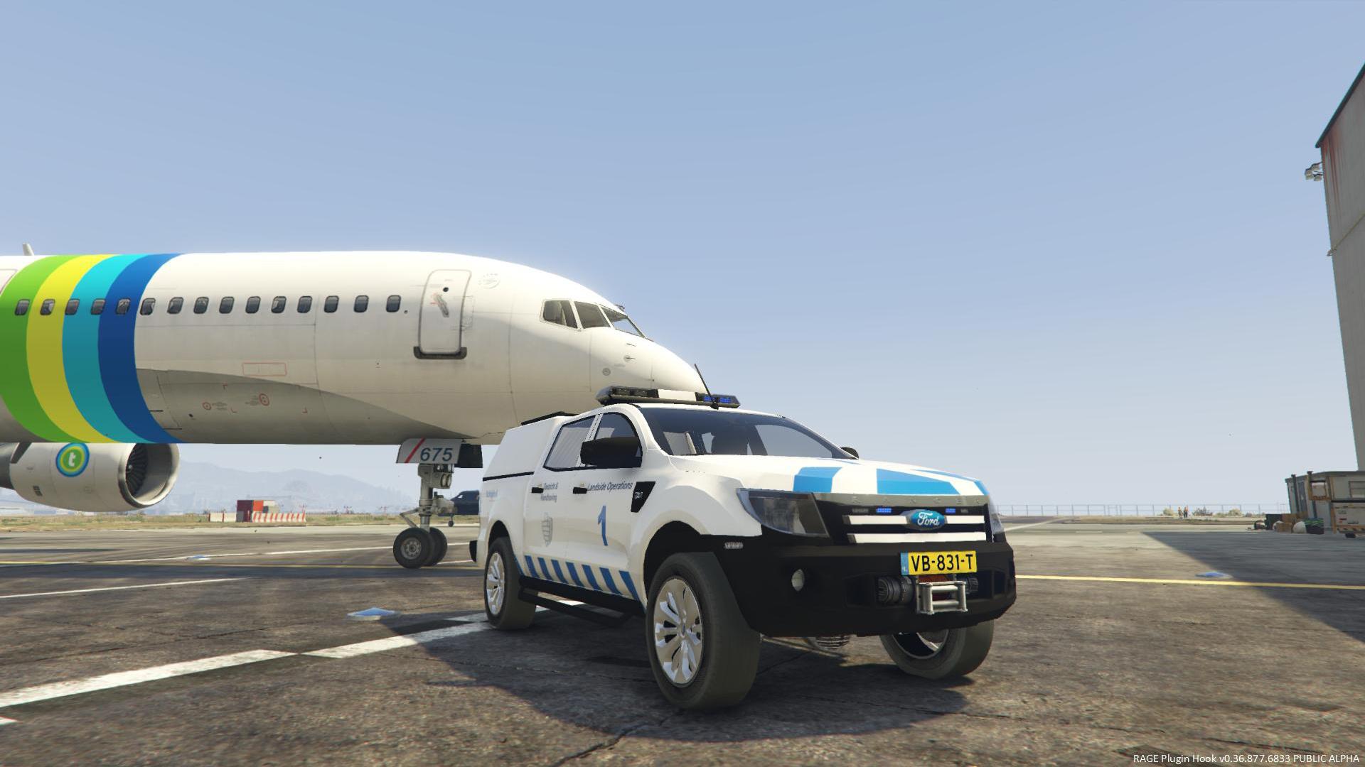 Ford Ranger Schiphol Landside Operations [4K Skin] - GTA5