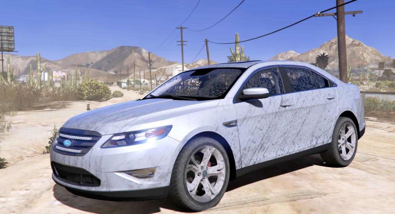 2010 Ford Taurus Sho Tuning Wipers Gta5 Mods Com