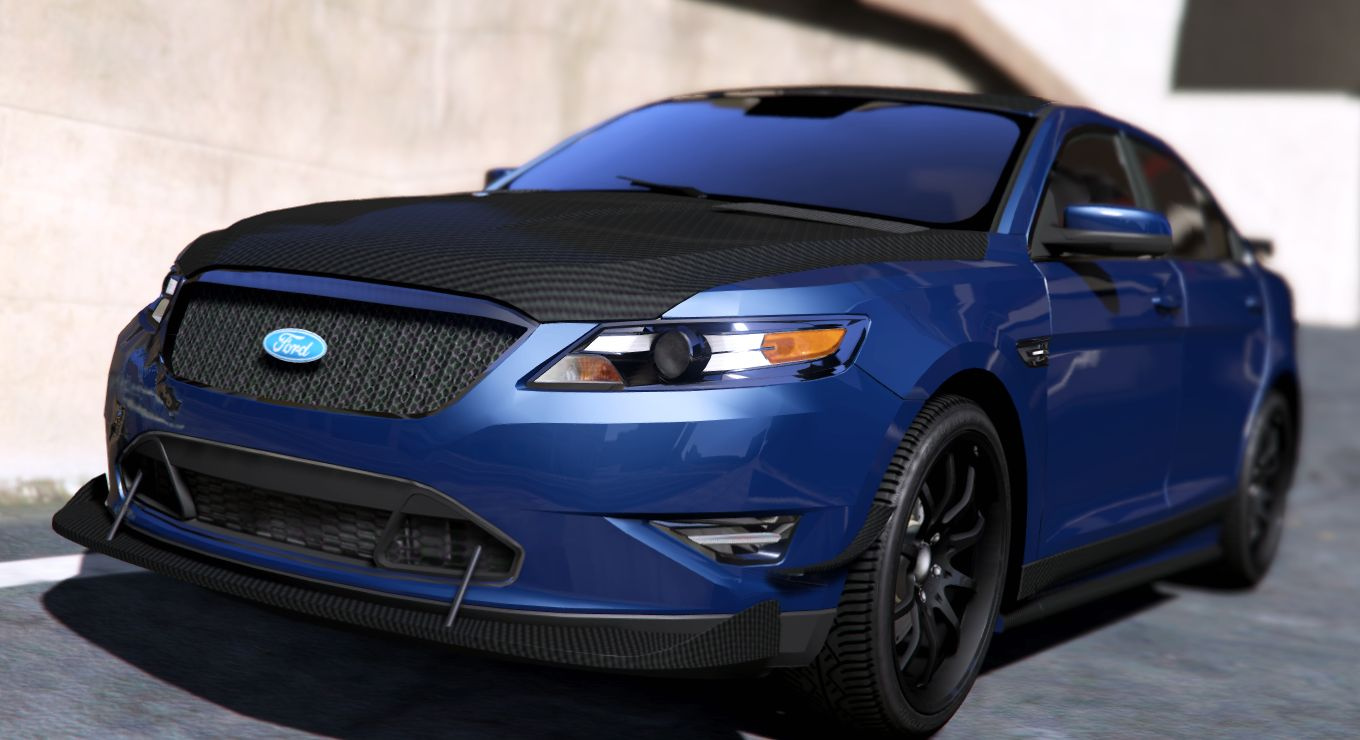 2010 ford taurus sho tuning wipers gta5. Black Bedroom Furniture Sets. Home Design Ideas