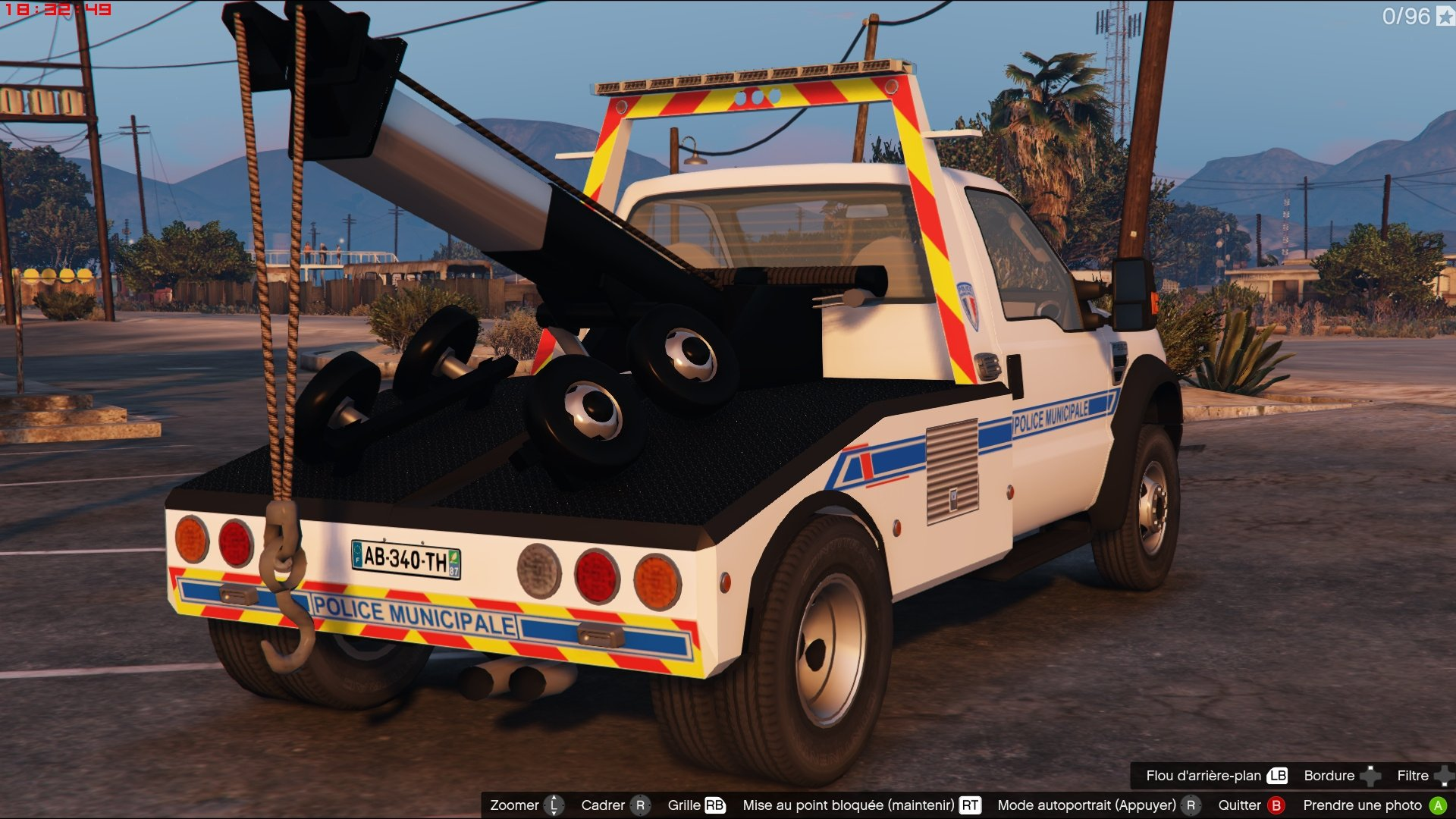 Ford F-550 Towtruck French Police Municipale [ELS] - GTA5