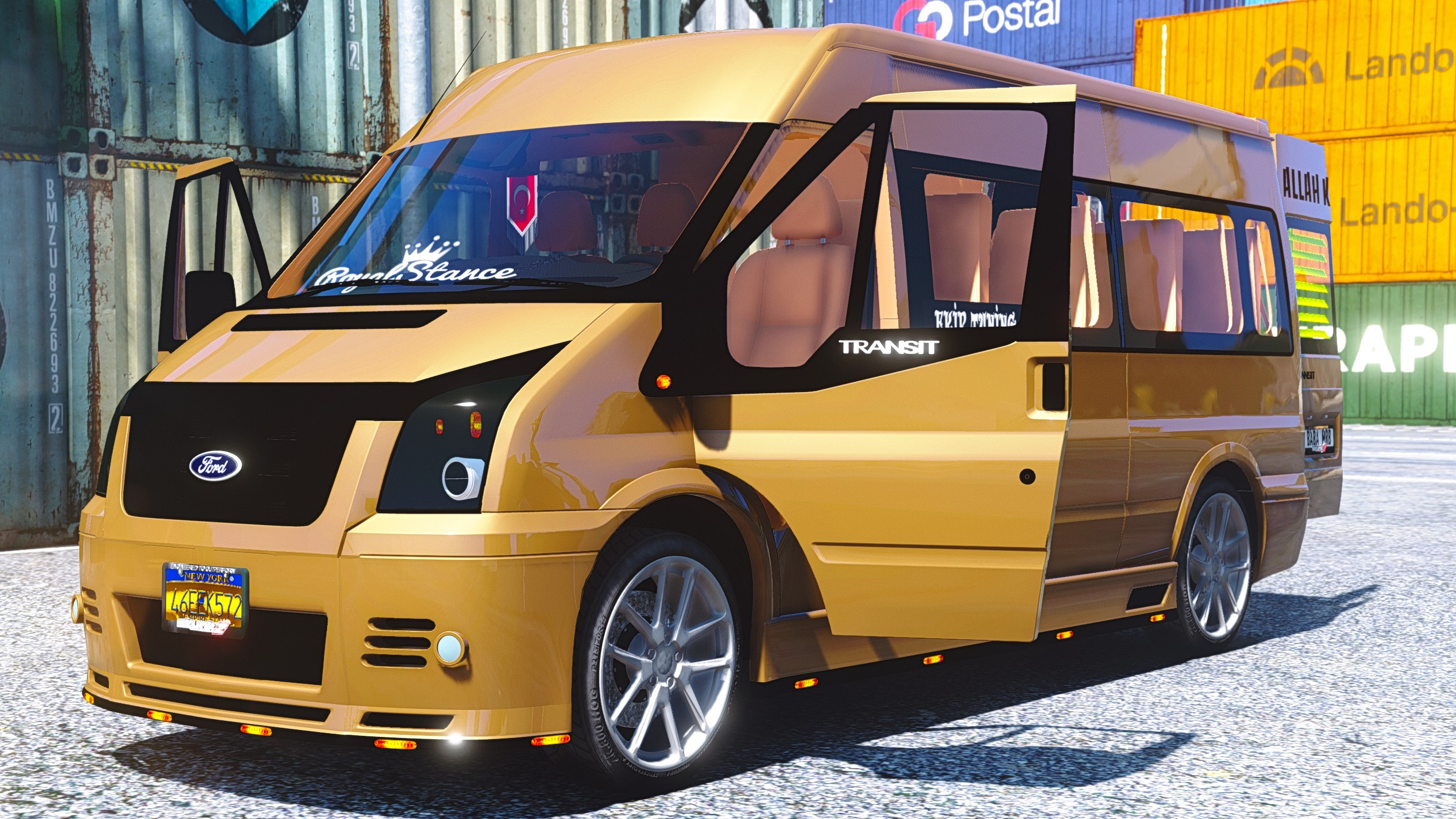 ford transit add on replace gta5. Black Bedroom Furniture Sets. Home Design Ideas