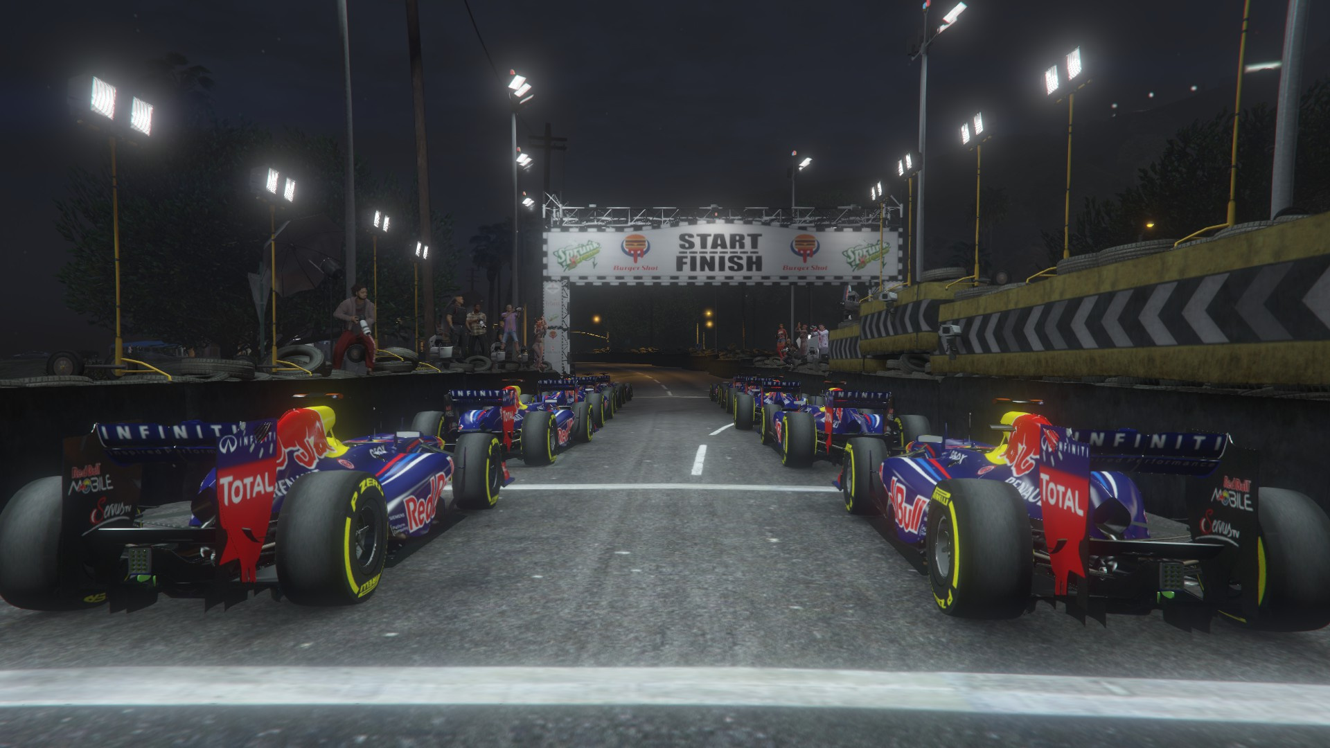 Formula One F1 Track With Pitstop Huge Track Gta5 Mods Com
