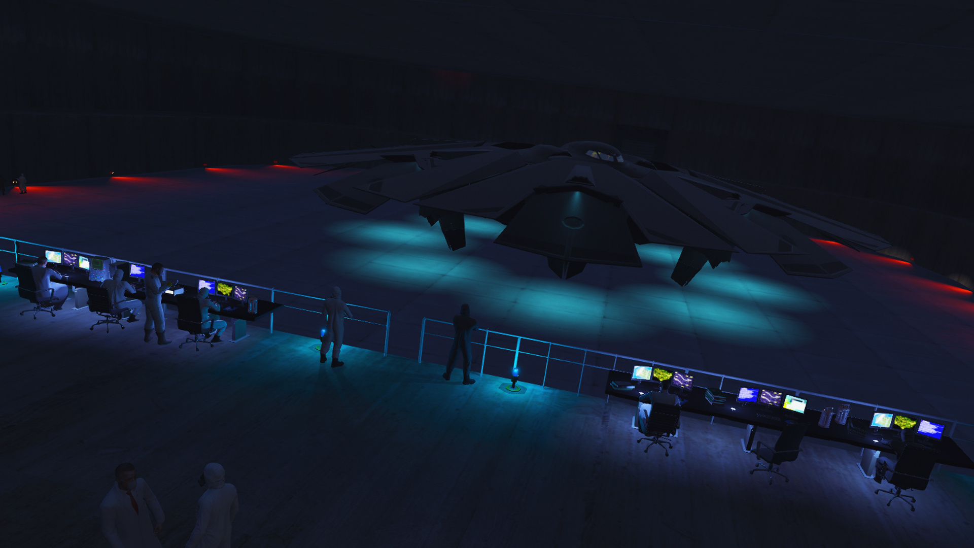 Fort Zancudo Top Secret Project Gta5 Mods Com