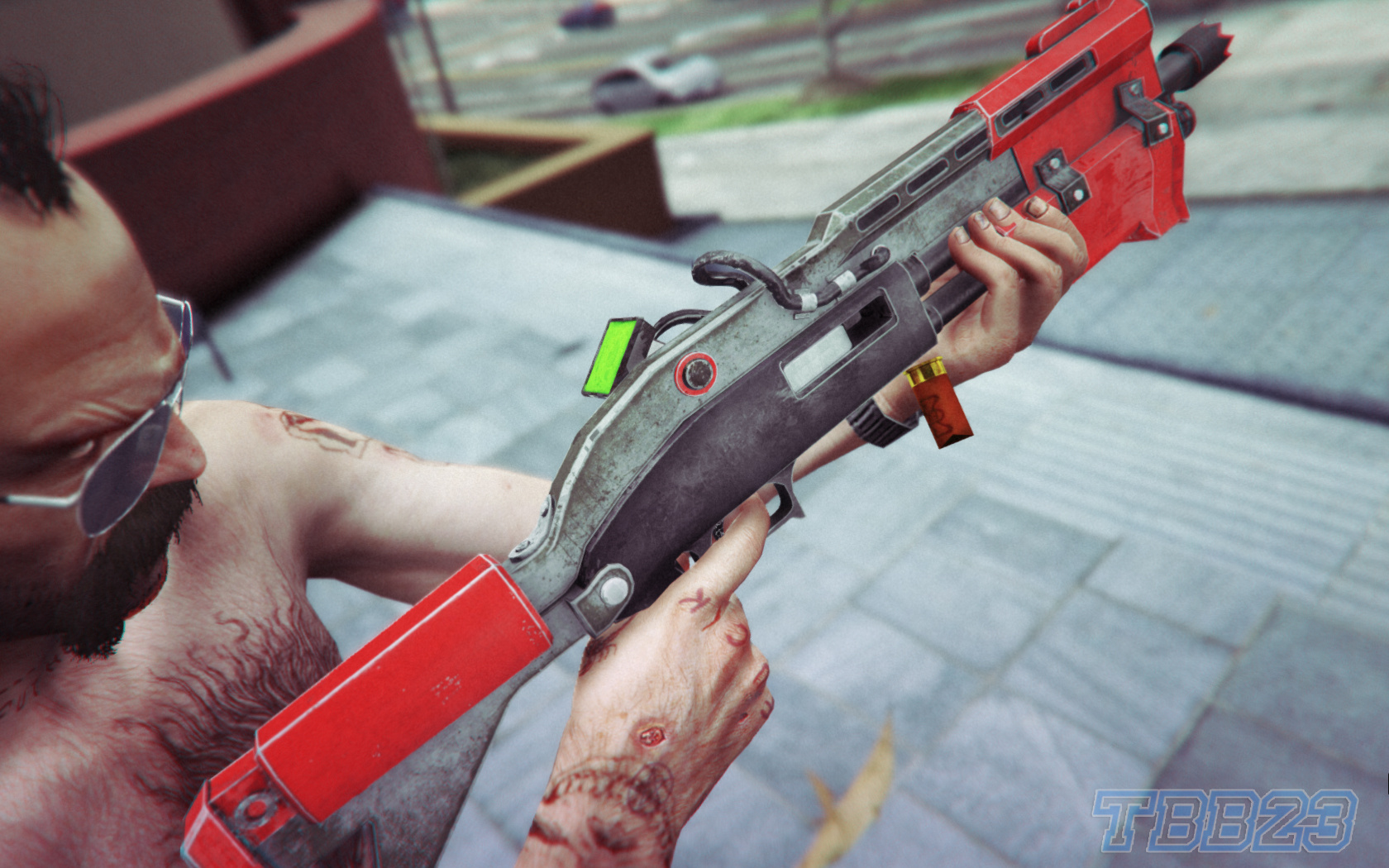 Fortnite Tactical Shotgun FULLY ANIMATED V10