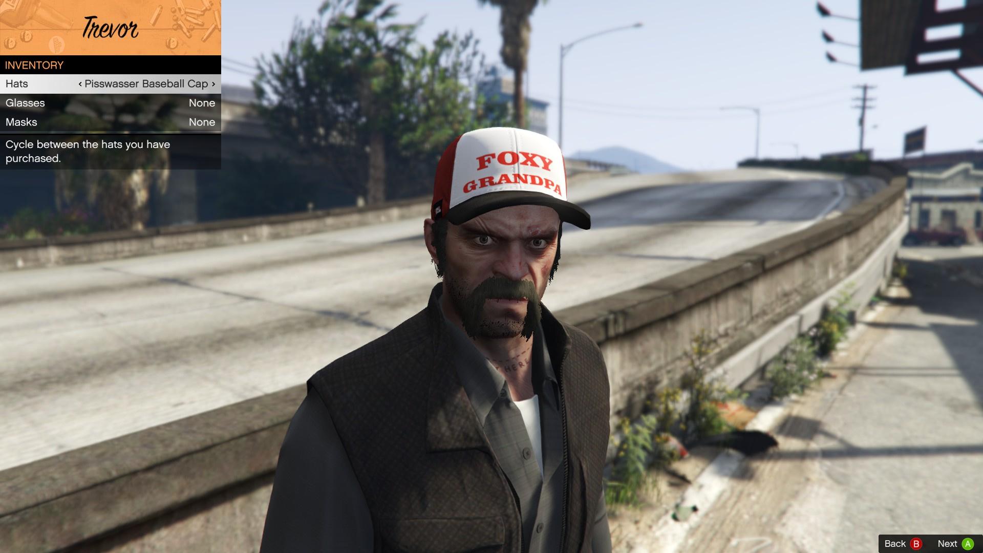 1f06285dc627 Foxy Grandpa Hat for Trevor - GTA5-Mods.com