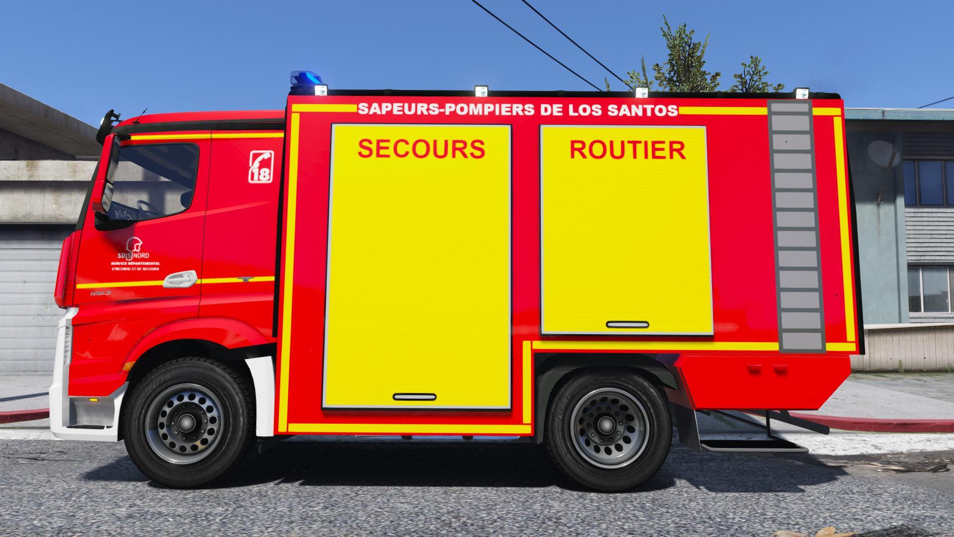 Vsr Sapeurs Pompiers Nouvelle Version Gta5 Mods Com