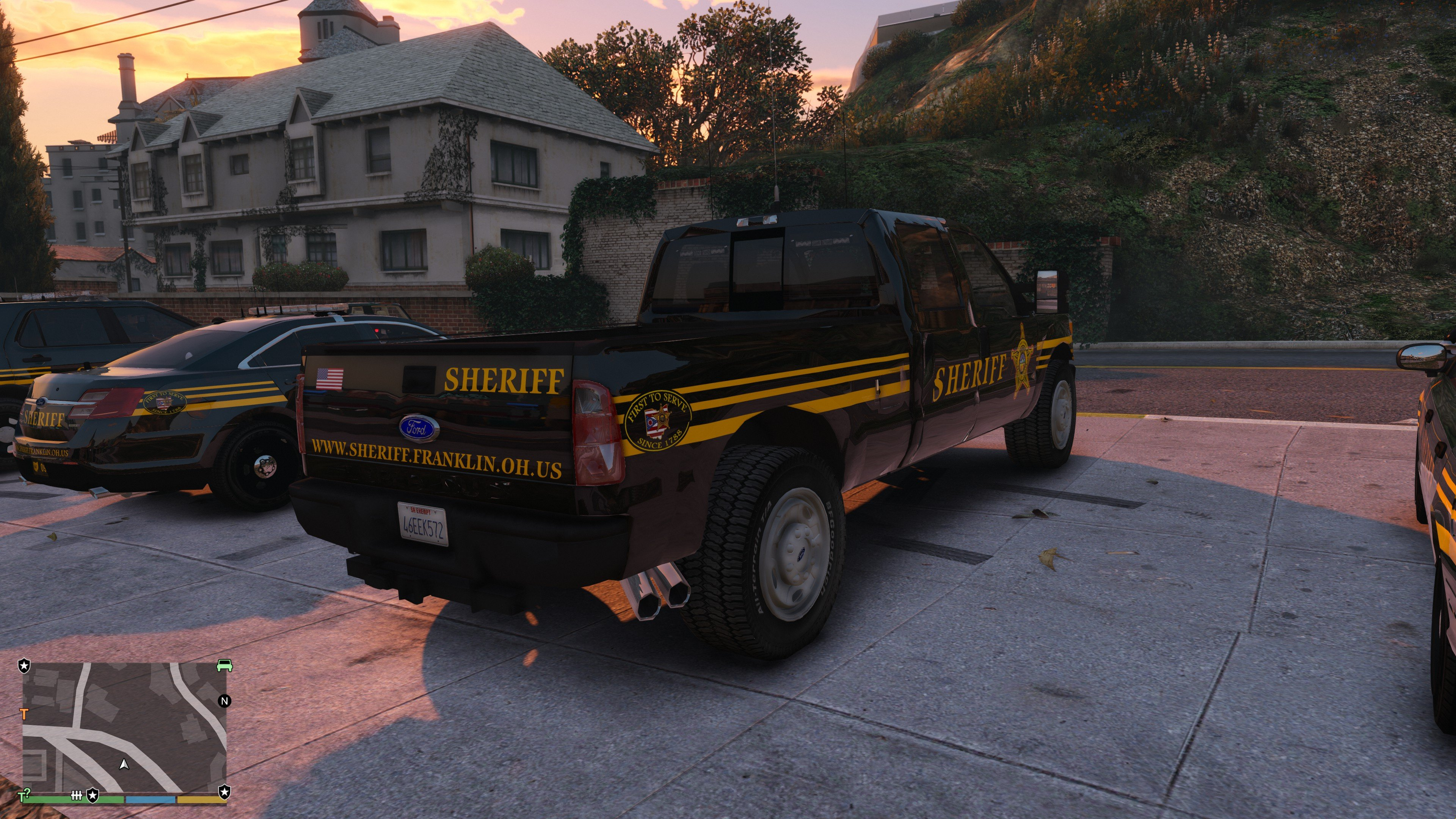 Franklin County Sheriff's Office, Ohio - Texture Pack [4K