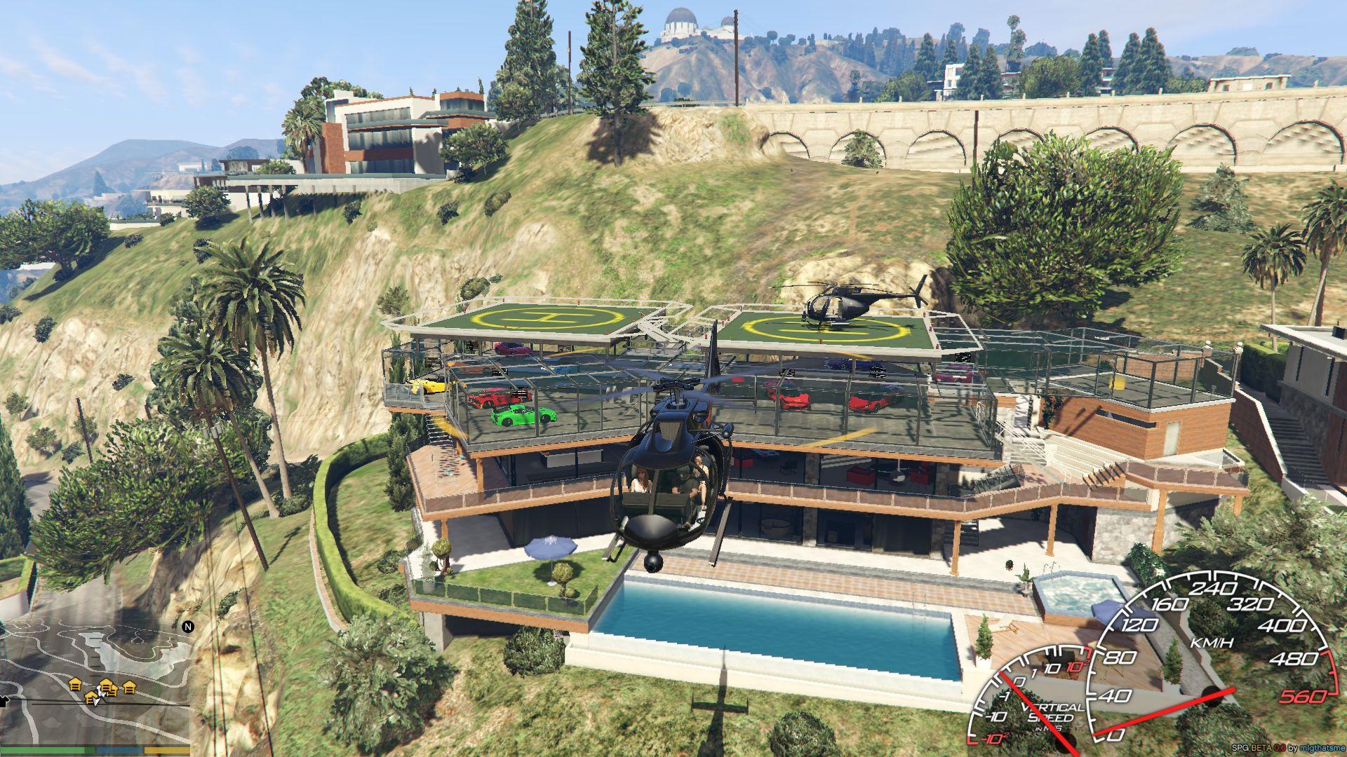 Franklin Garage Roof Map Editor Spg Gta5 Mods Com