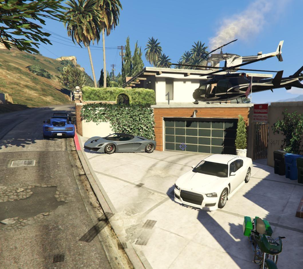 Franklin's House VIP - GTA5-Mods com