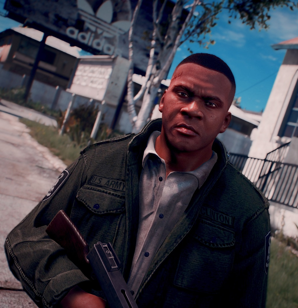 Franklin Mafia 3 Lincoln Scar And Haircut Gta5 Mods
