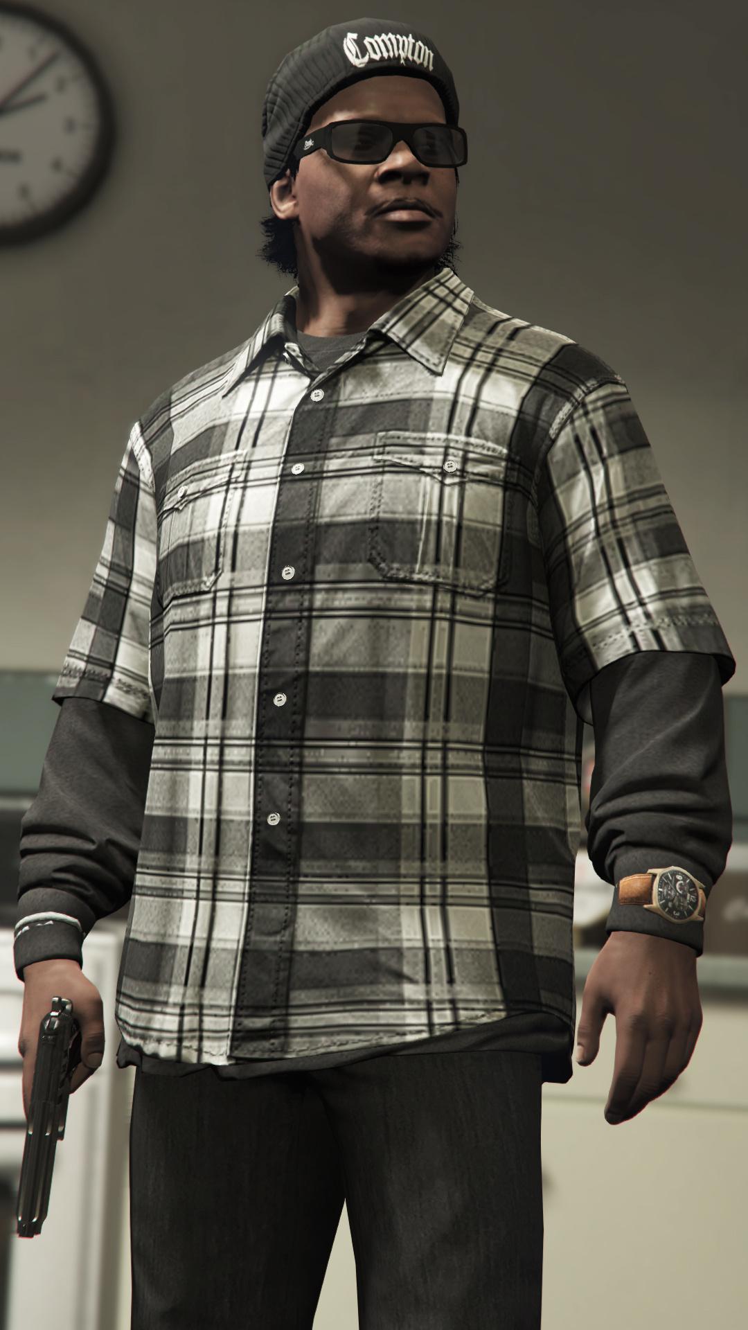Franklin S High Quality Clothing Textures Gta5 Mods Com