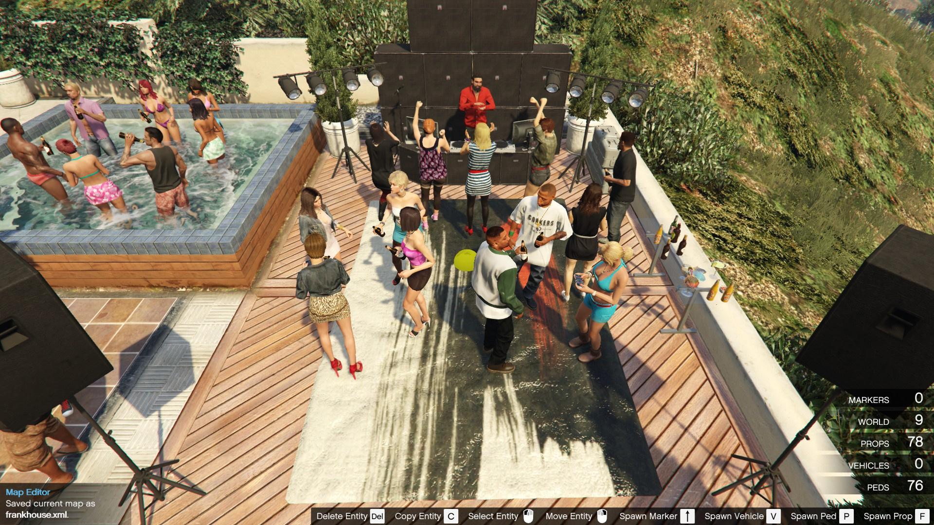 Franklin's House Party - GTA5-Mods com