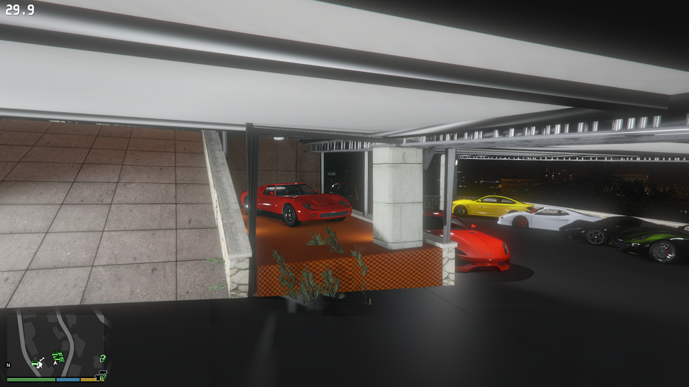 Franklin 39 s new garage map editor spg gta5 for Garage new s villejuif