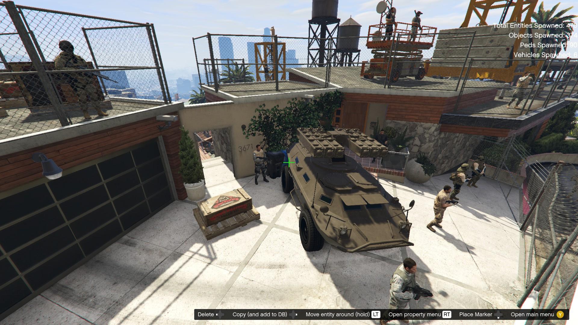 Franklin Zombie Safe House Gta5 Mods Com