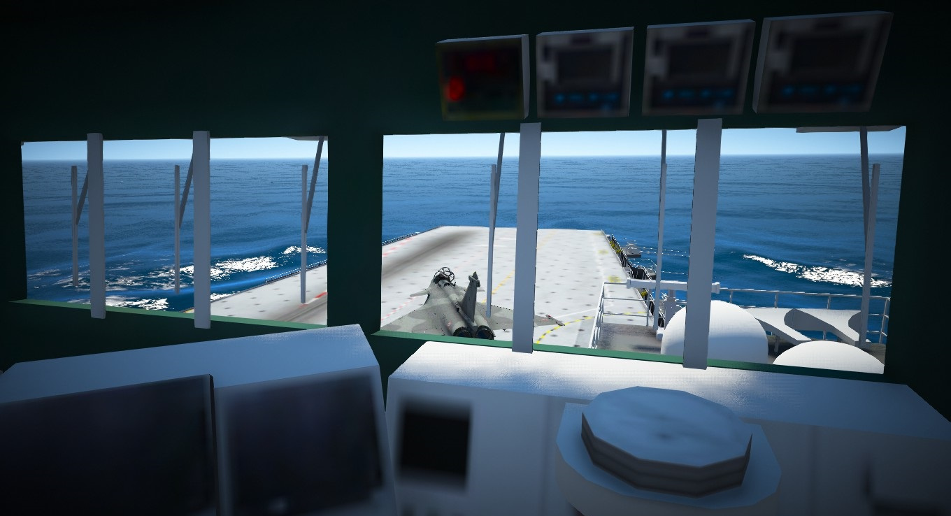 French Aircraft Carrier Charles De Gaulle Add On Gta5