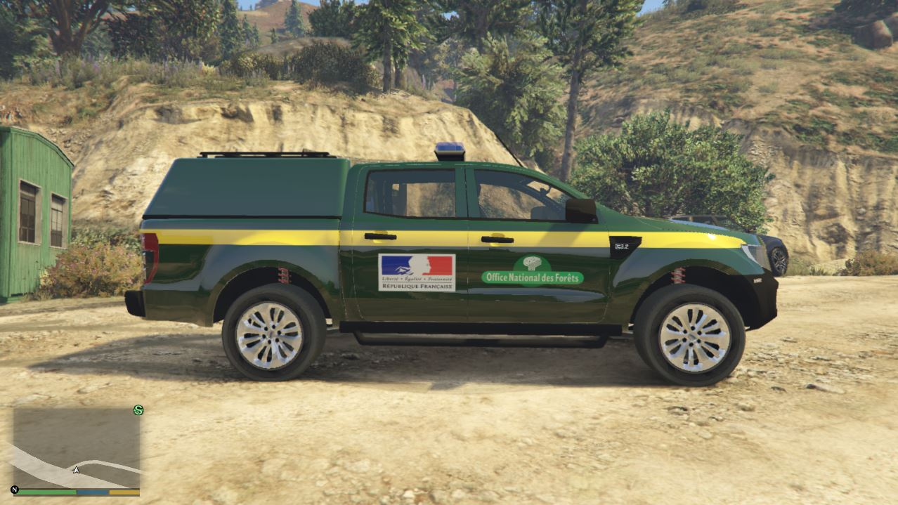 French ranger onf gta5 - Office national des foret ...