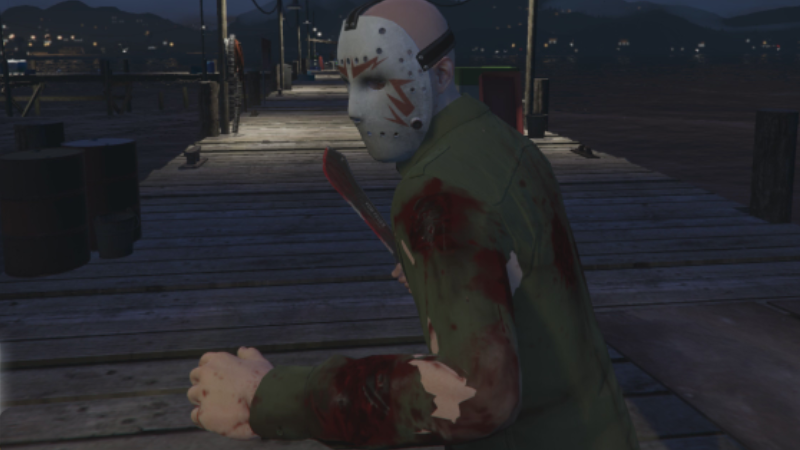 Friday the 13th nude mod