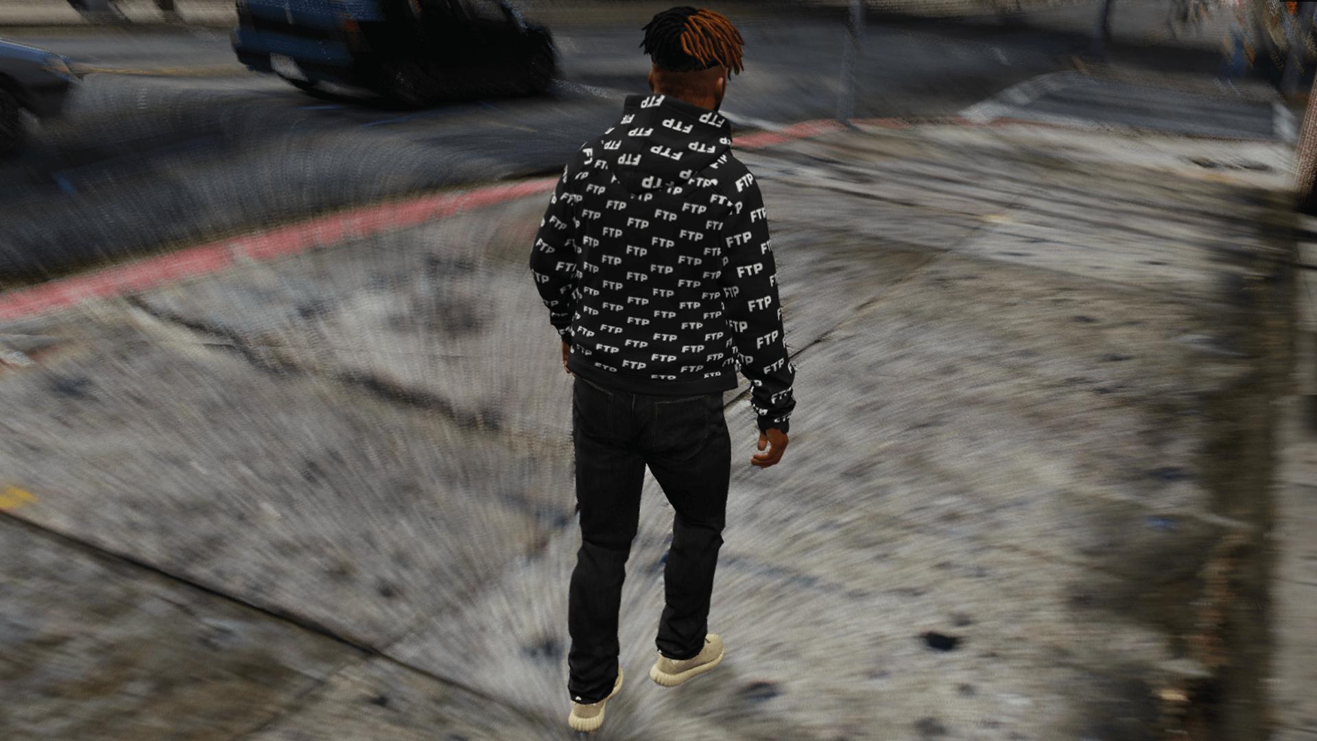 Ftp All Over Hoodie Gta5 Mods Com
