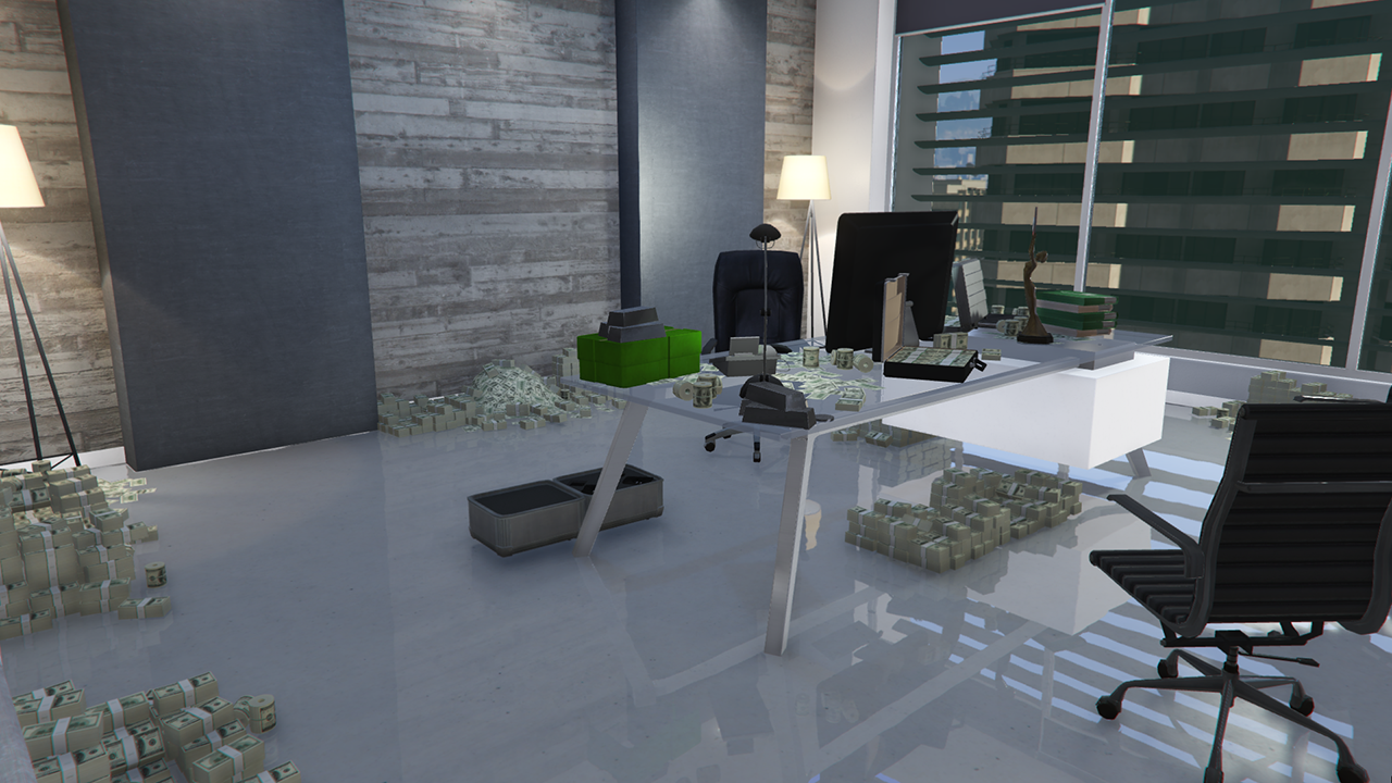 gta online how to sell office