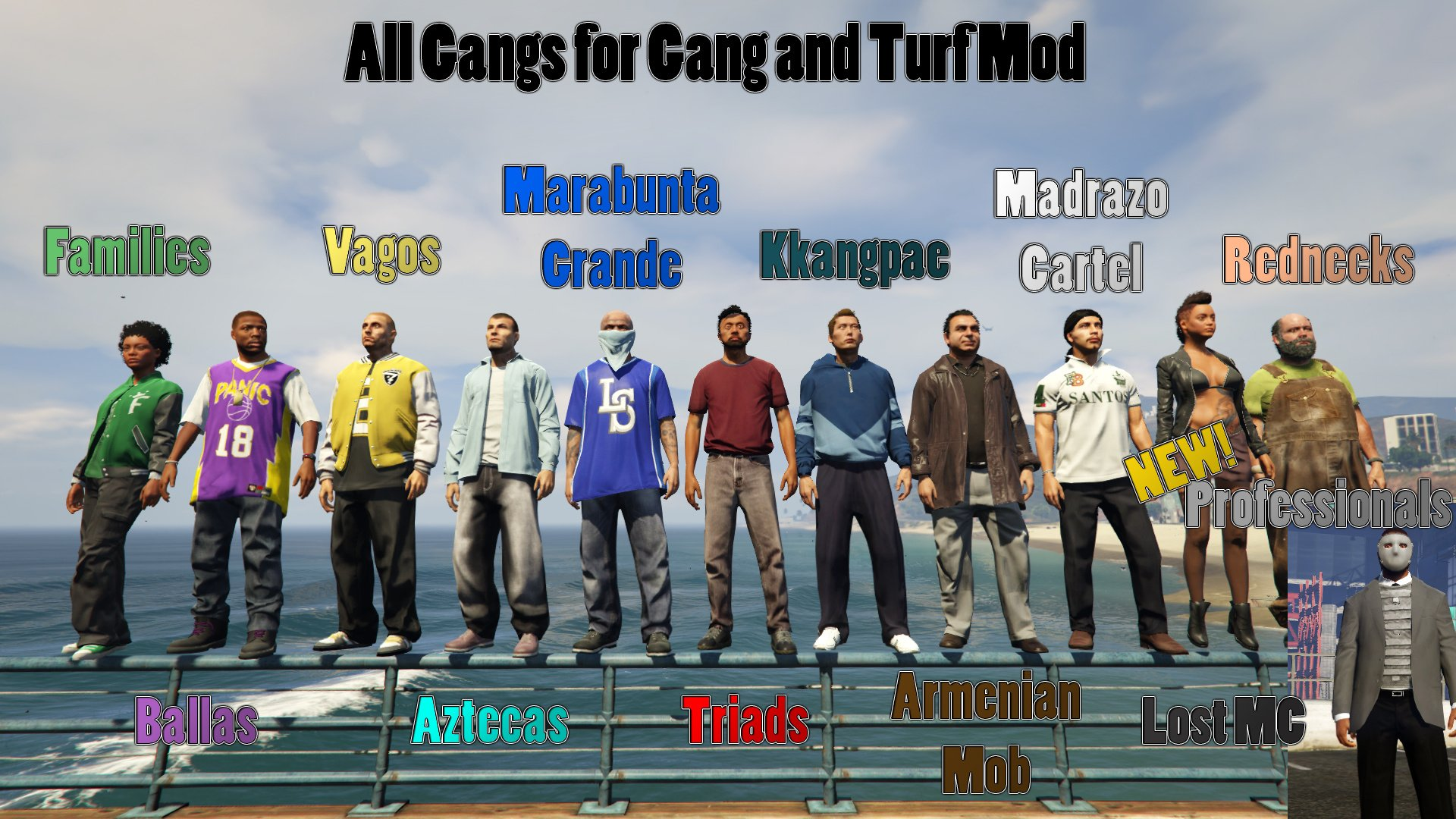 What did the GTA gang do? 54